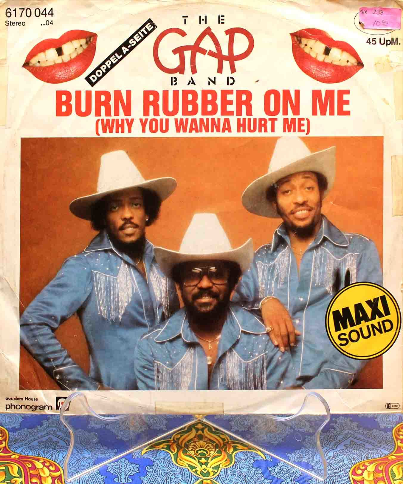Gap Band - Burn Rubber On Me 01