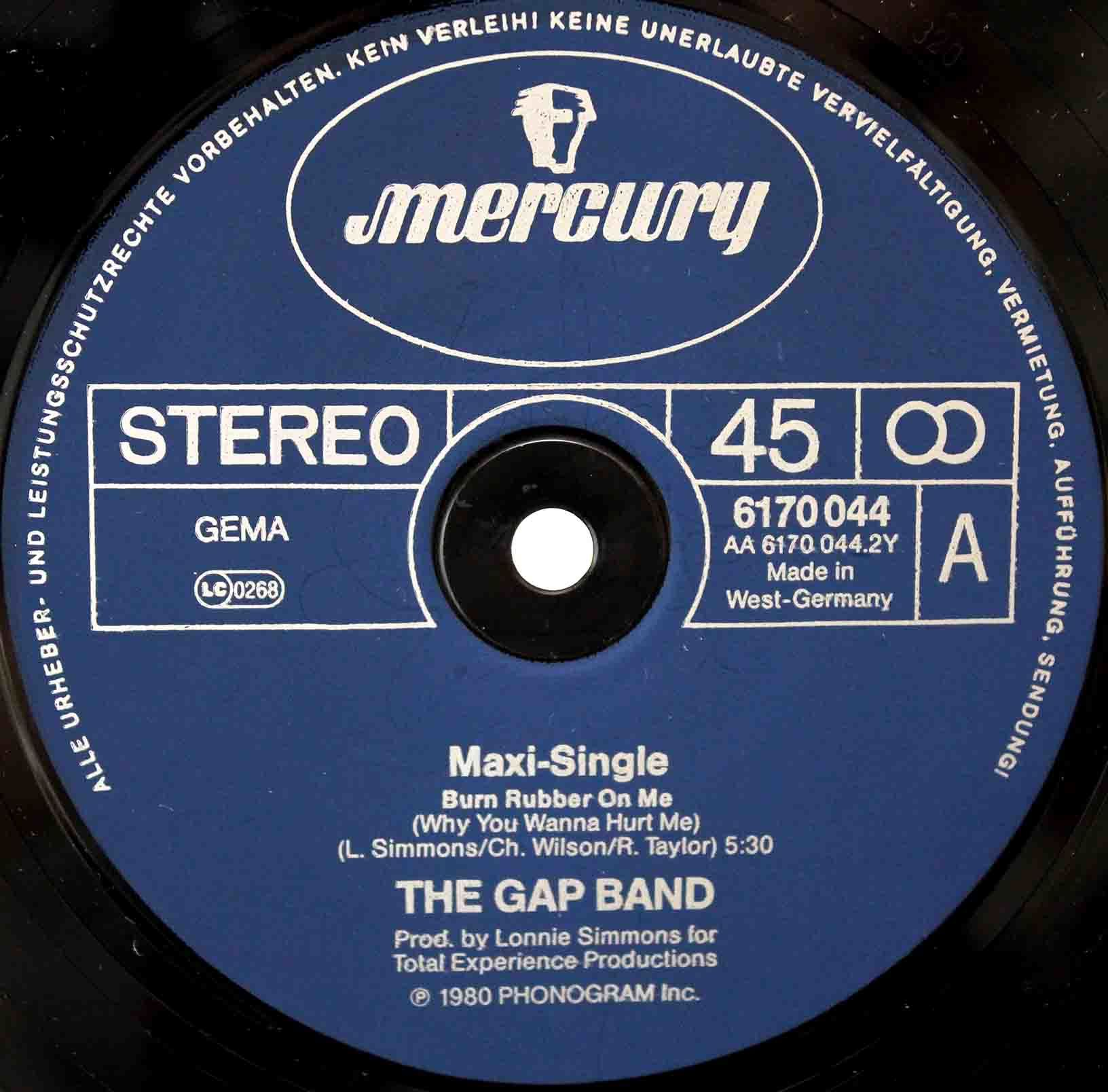 Gap Band - Burn Rubber On Me 02
