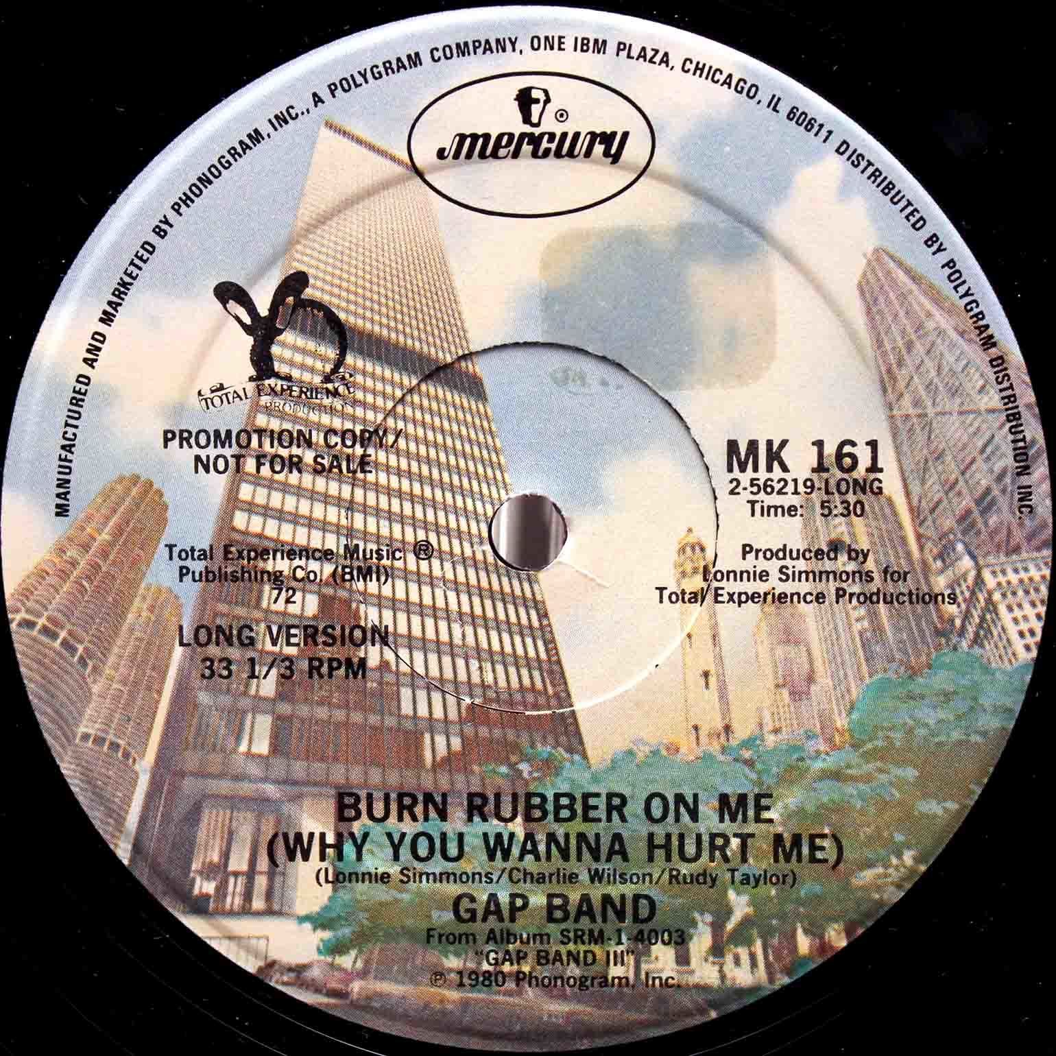 Gap Band - Burn Rubber On Me US Promo 02