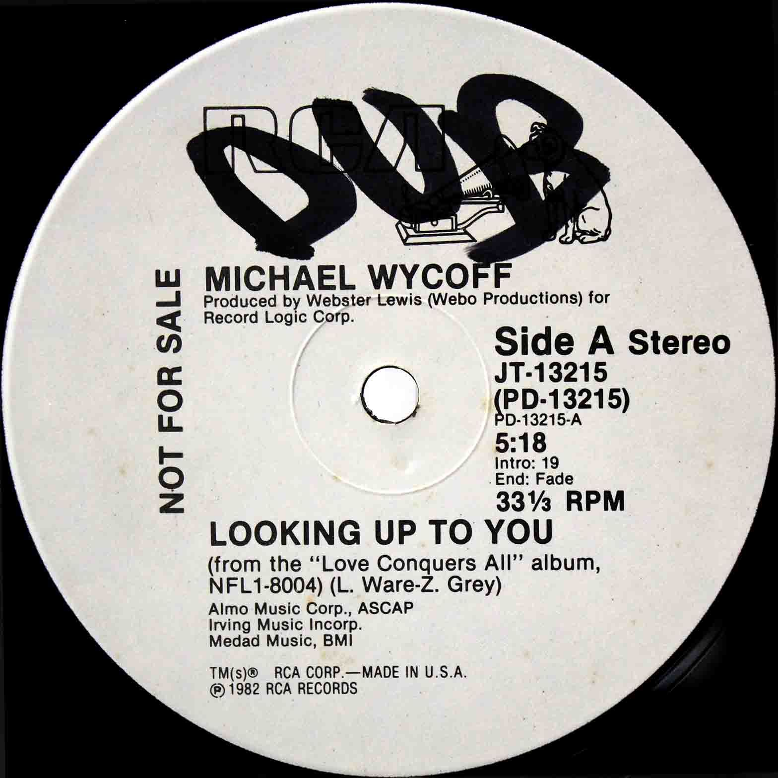 Michael Wycoff ‎– Looking Up To You 03