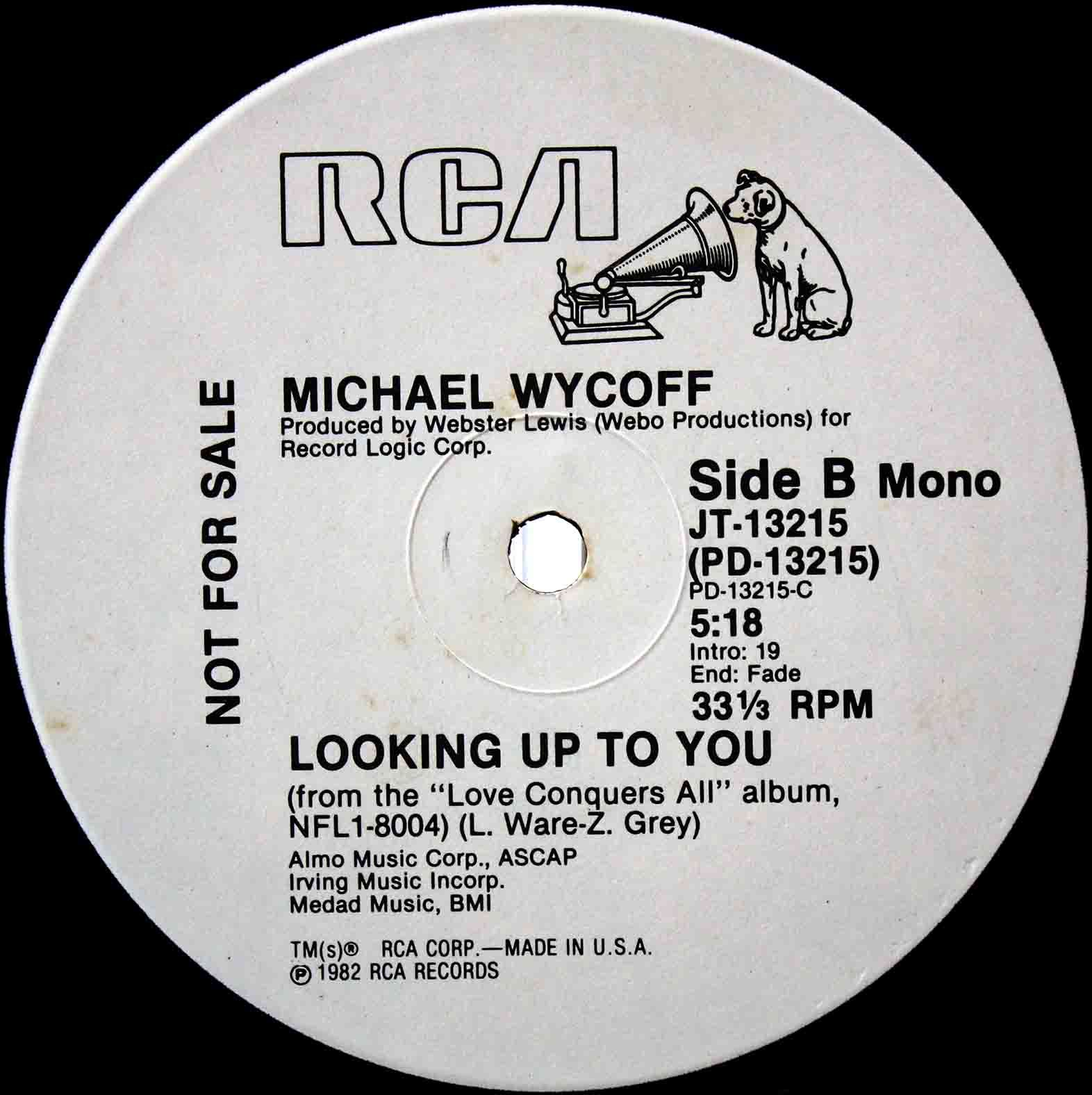 Michael Wycoff ‎– Looking Up To You 04