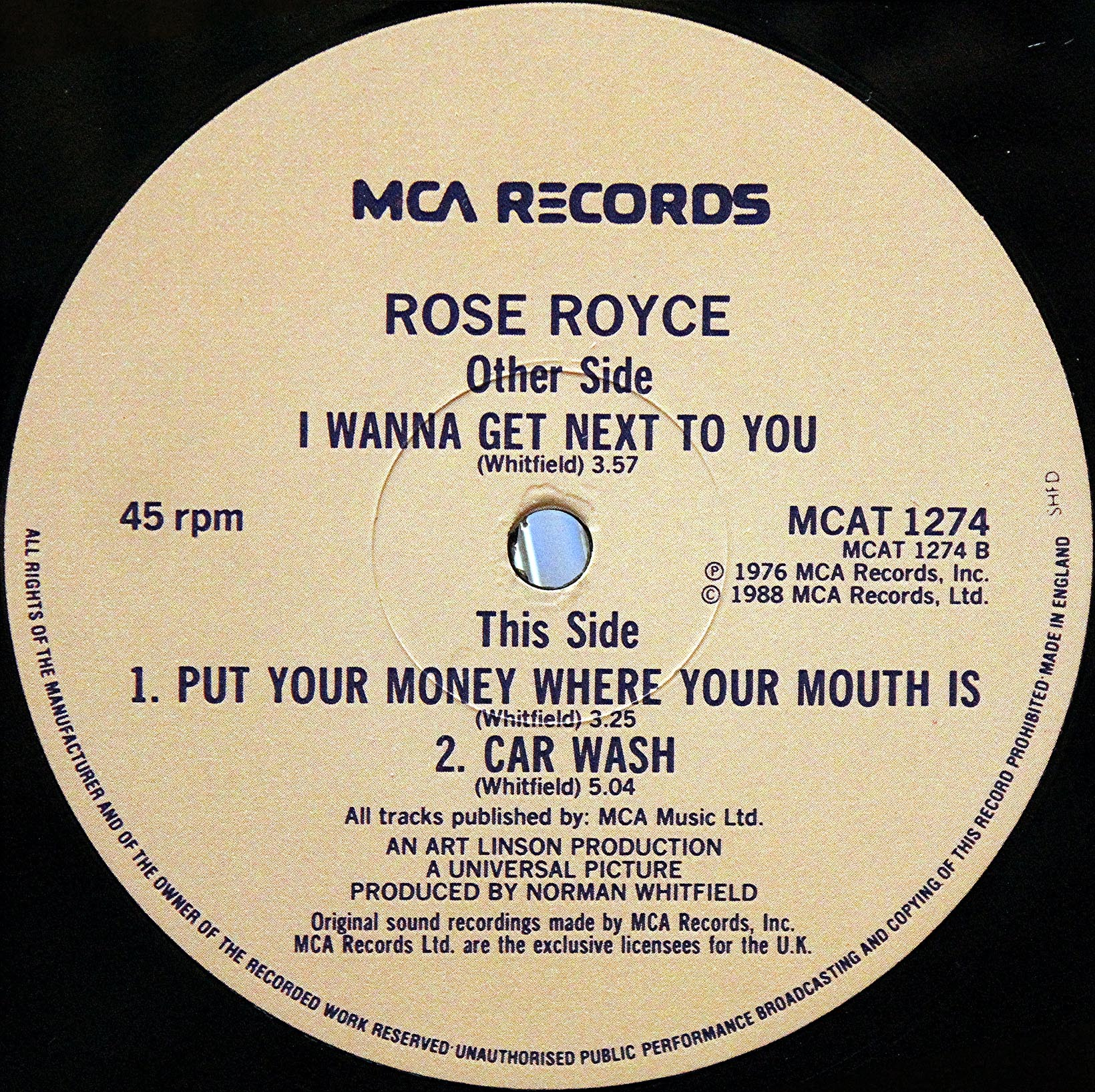 Rose Royce Put Your Money Where Your Mouth Is 03