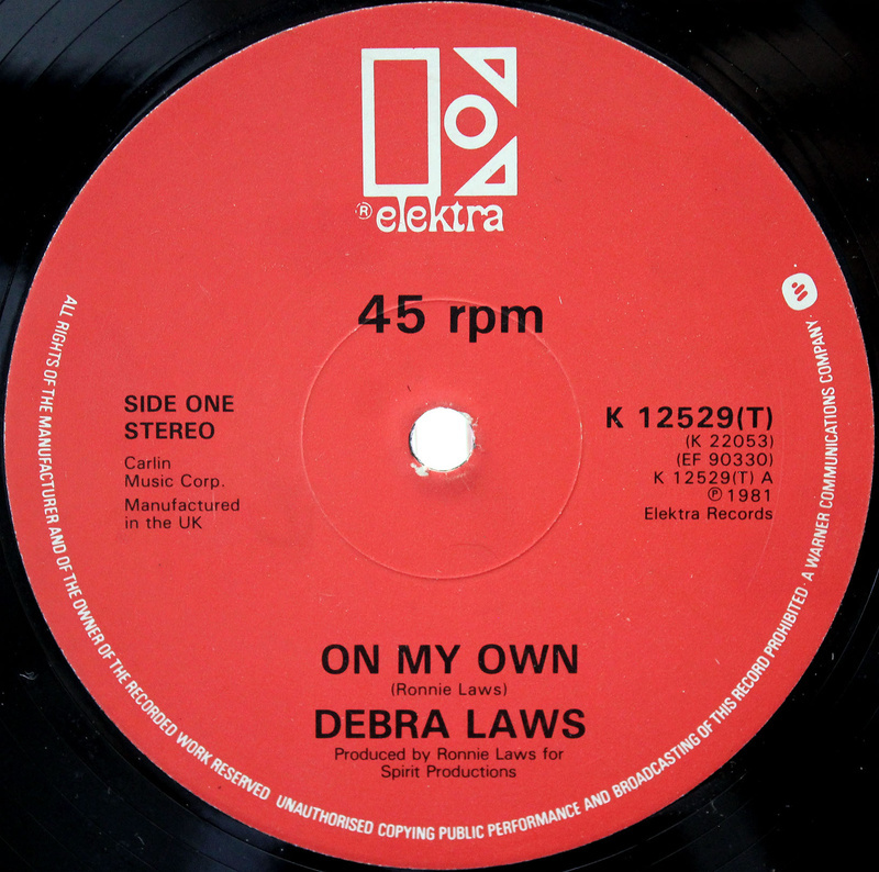 Debra Laws ‎– On My Own 03