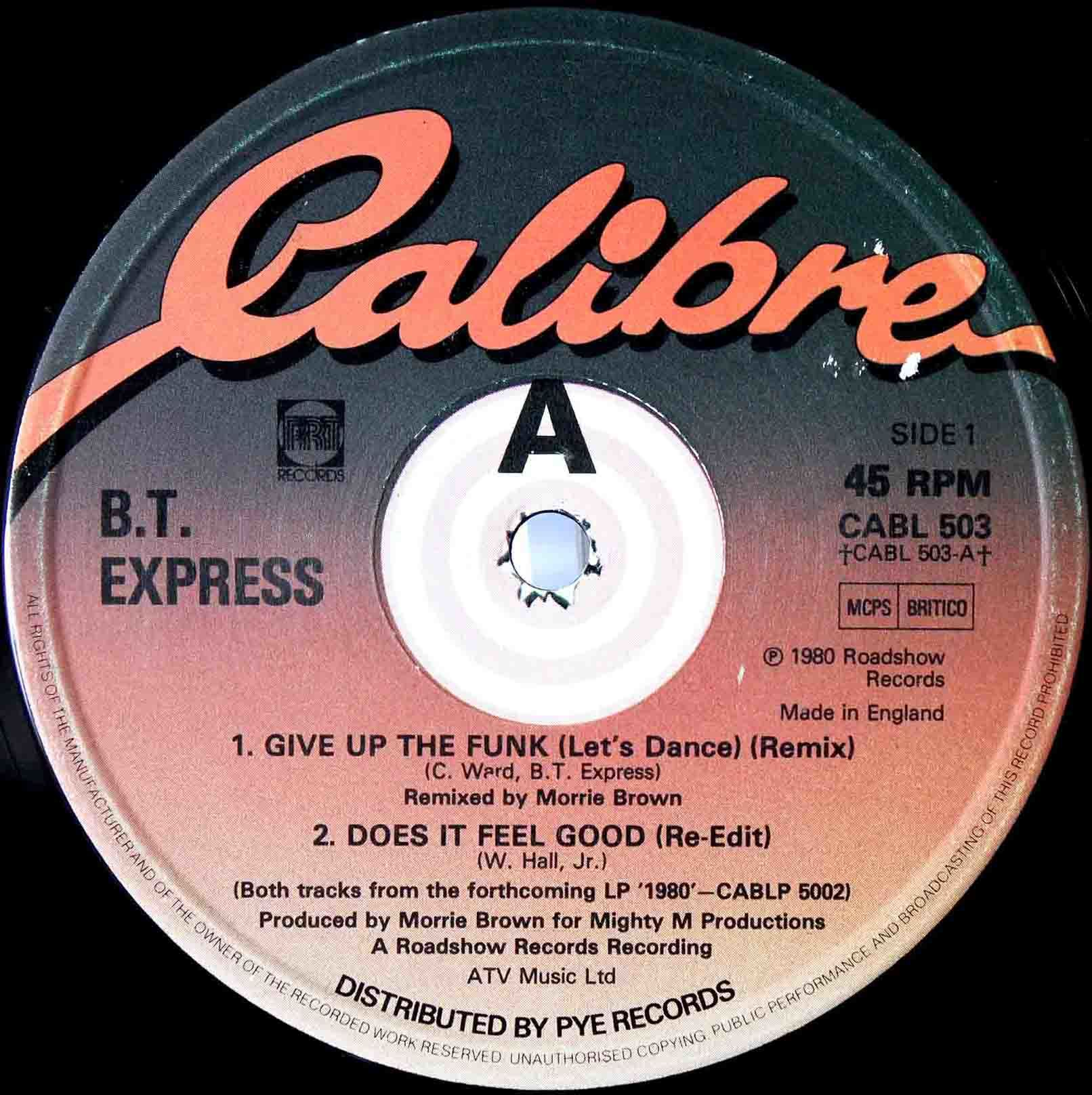 BT Express Give Up The Funk (UK 12 Remix) 02