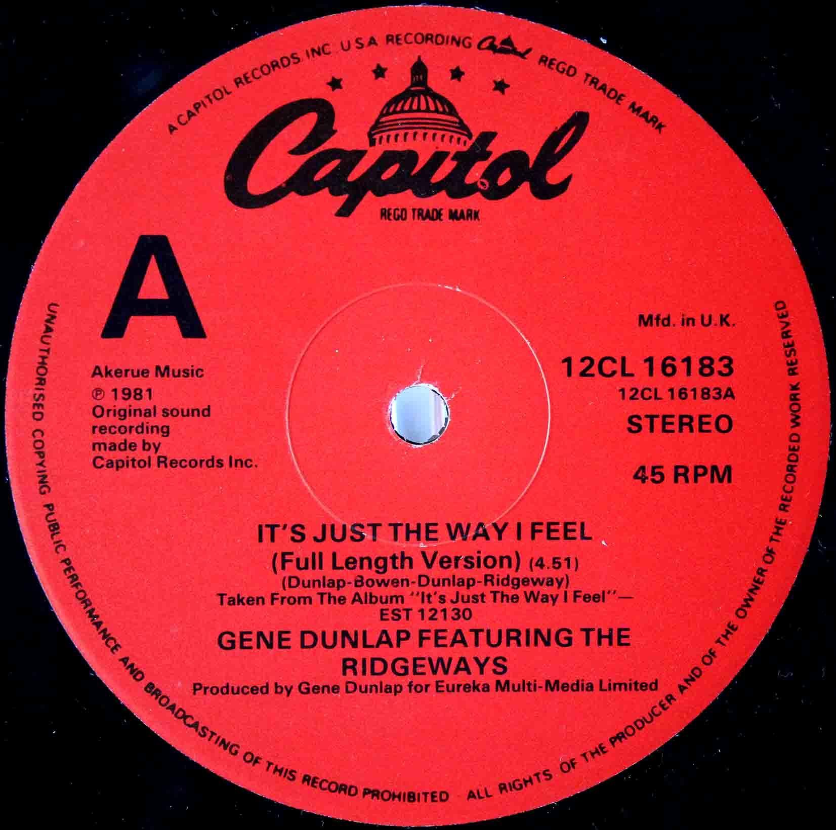 Gene Dunlap - Its Just The Way 03