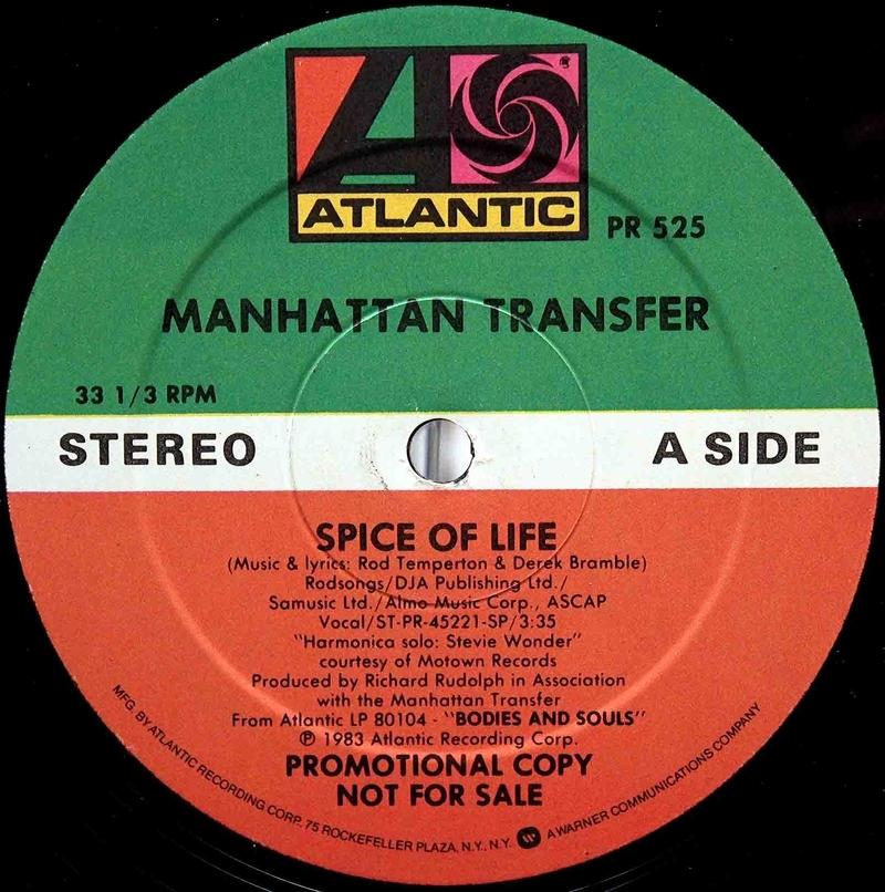 Manhattan Transfer Spice Of Life 03
