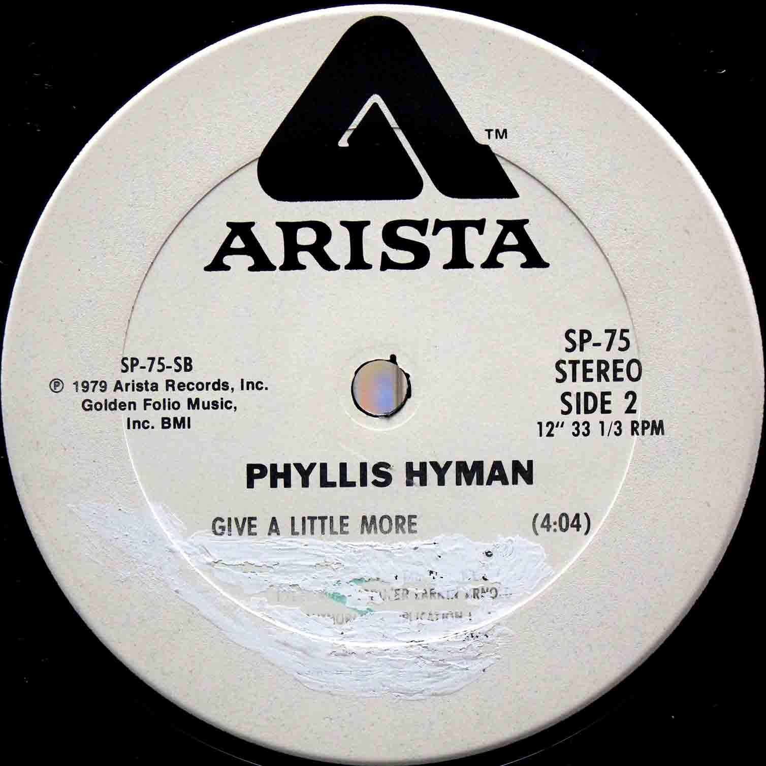 Phyllis Hyman – You Know How To Love Me US Promo 04