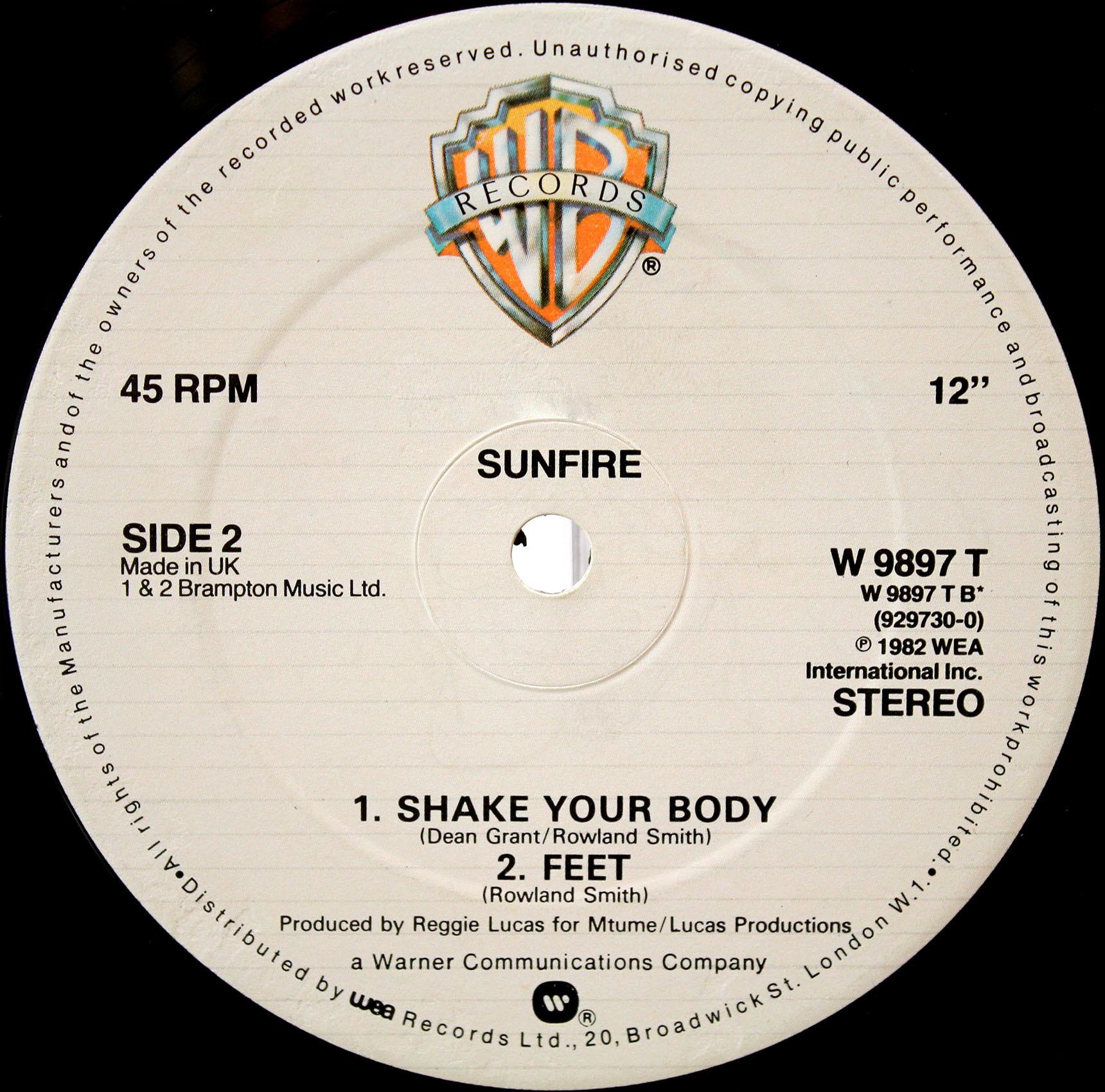 Sunfire Shake Your Body 04
