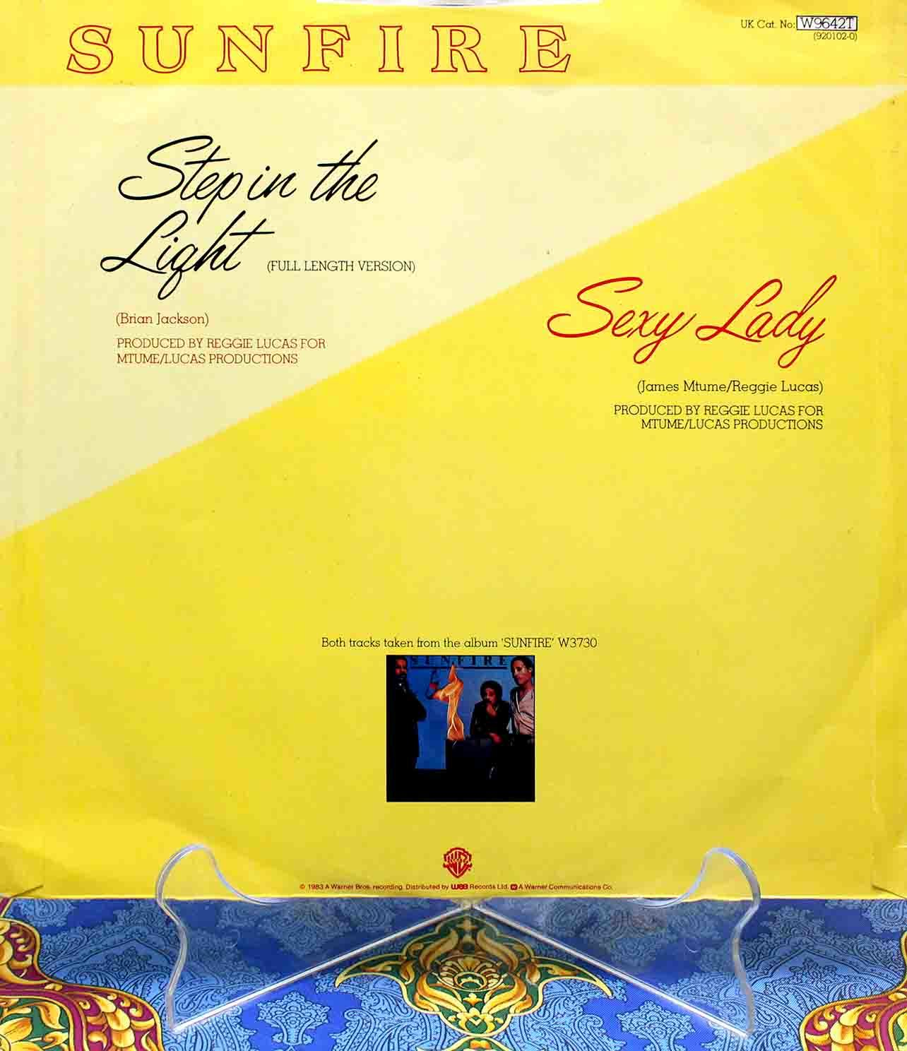 Sunfire - Step In The Light 02