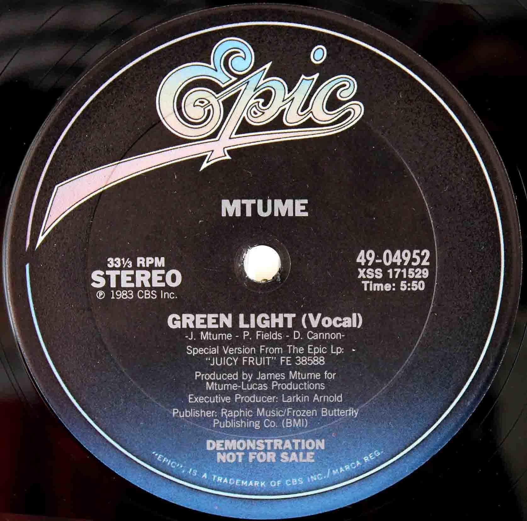 Mtume – Green Light 03