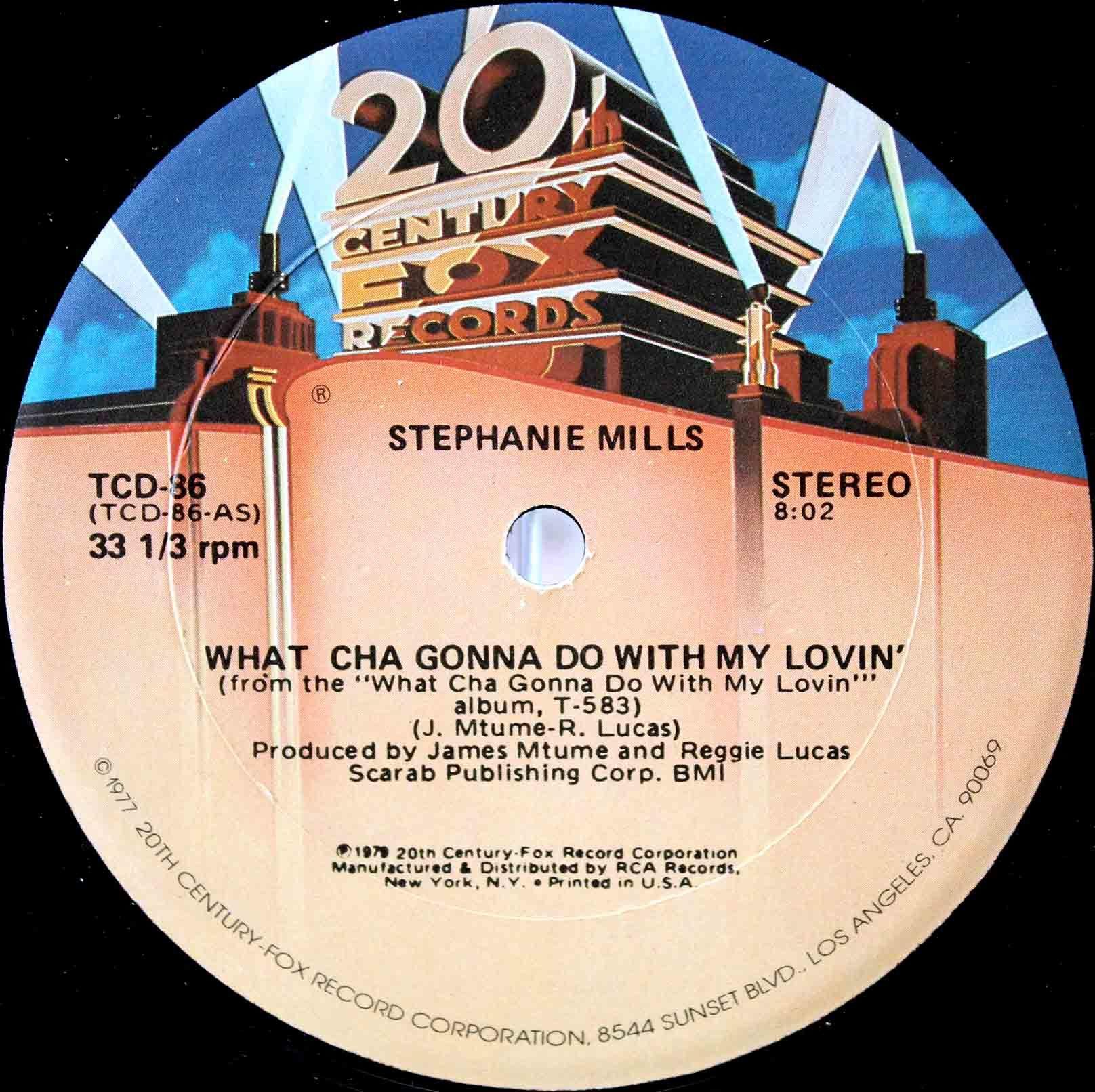 Stephanie Mills – What Cha Gonna Do With My Lovin 02