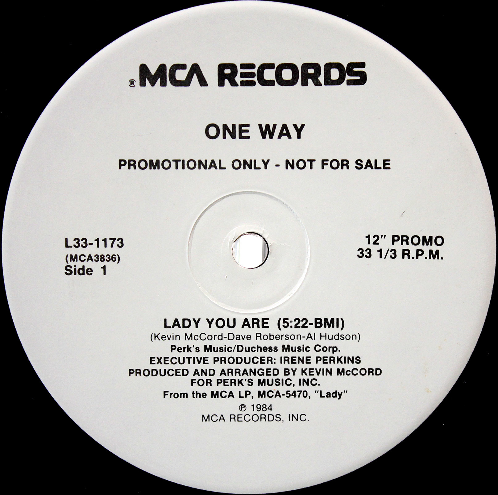One Way ‎– Lady You Are Mr Groove 03