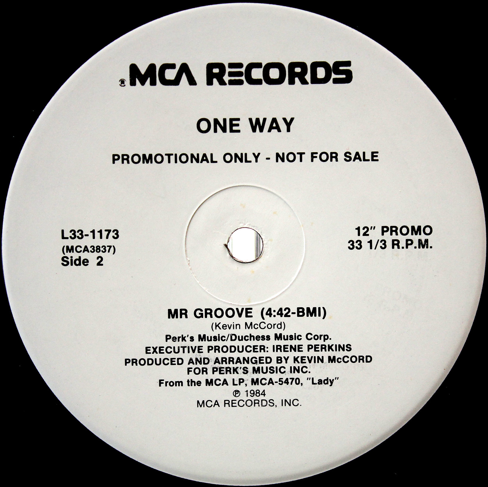 One Way ‎– Lady You Are Mr Groove 04