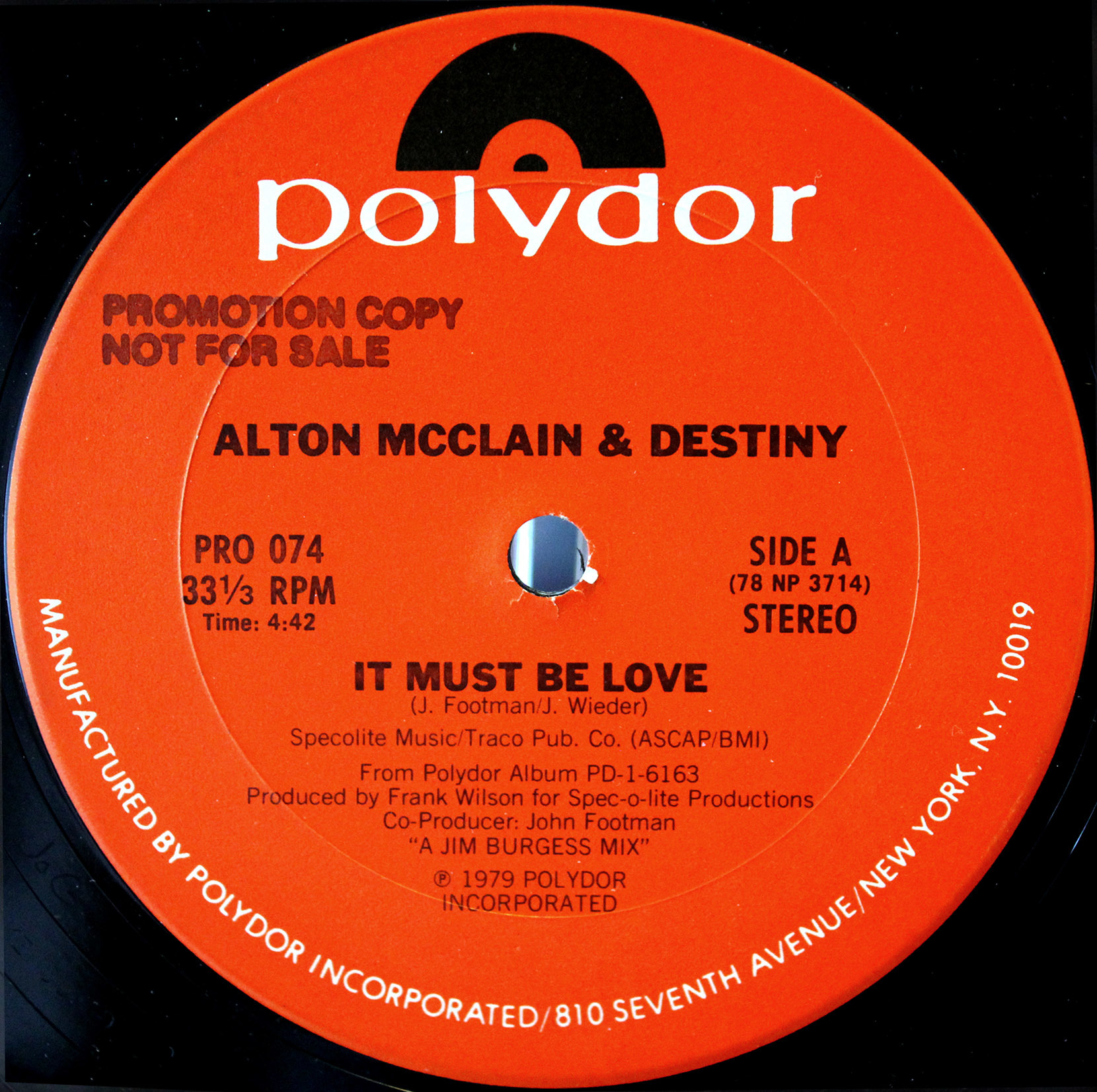 Alton McClain Destiny ‎– It Must Be Love 03