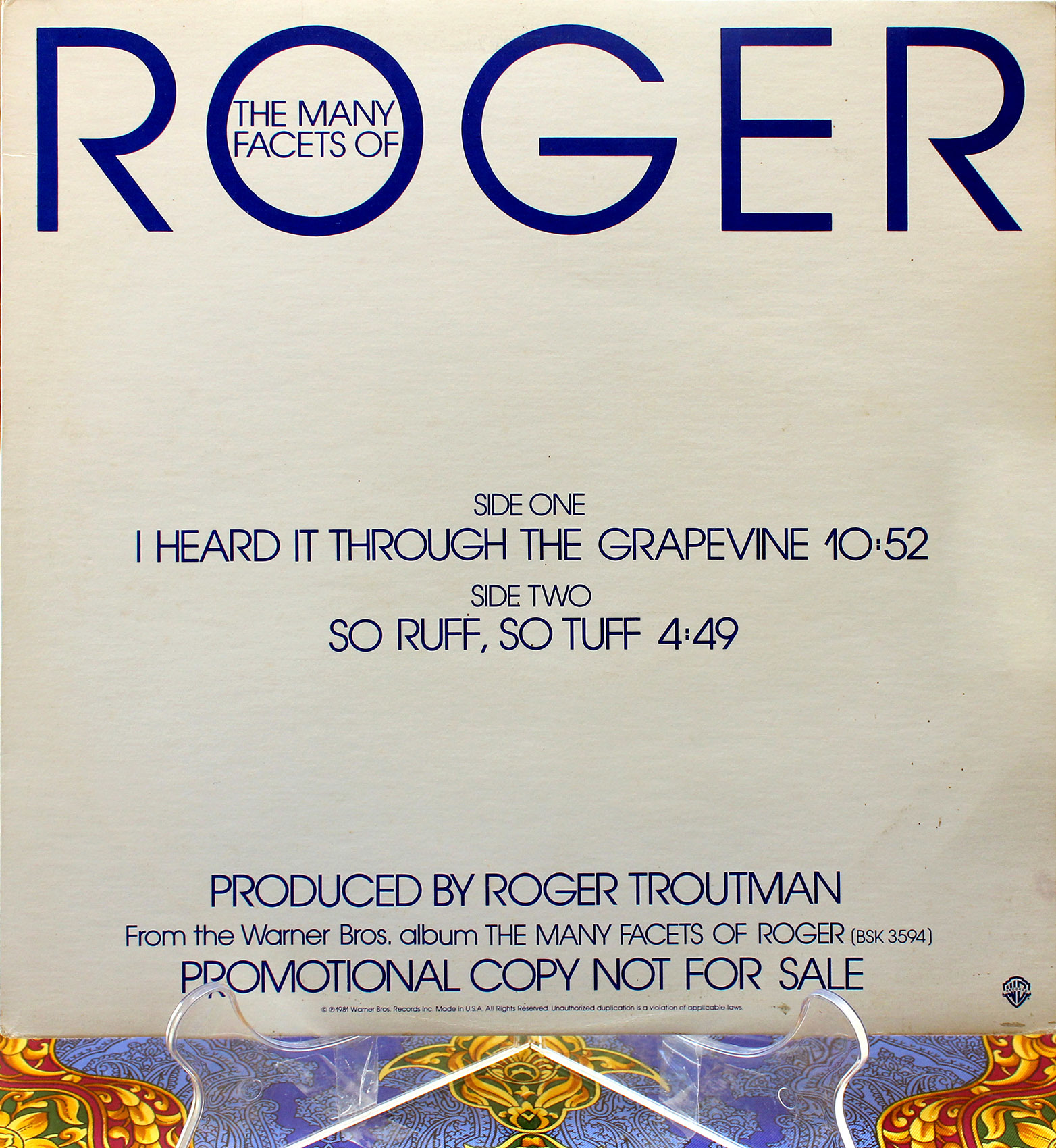 Roger ‎– I Heard It Through The Grapevine 01
