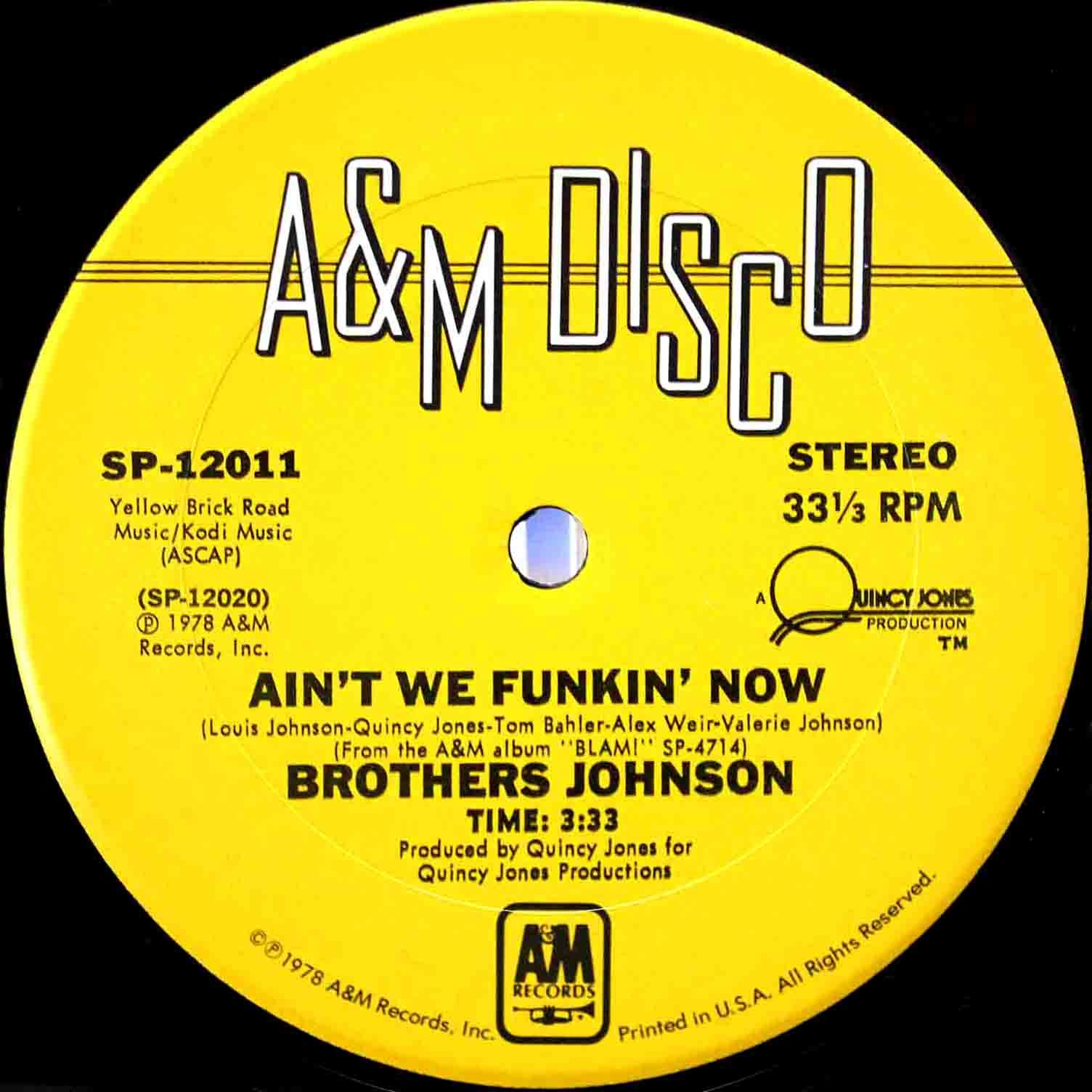 Brothers Johnson - Aint We Funkin Now 04