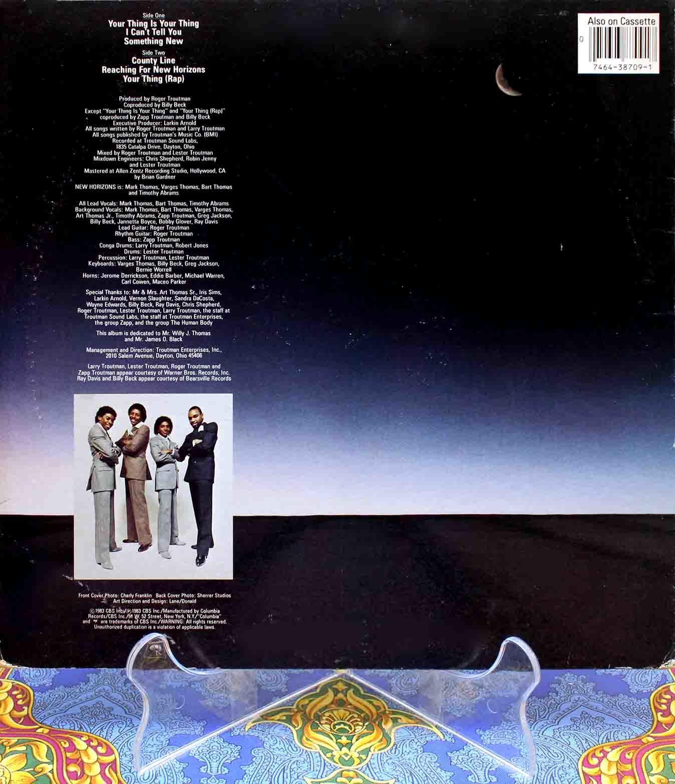 New Horizons – Something New LP 02