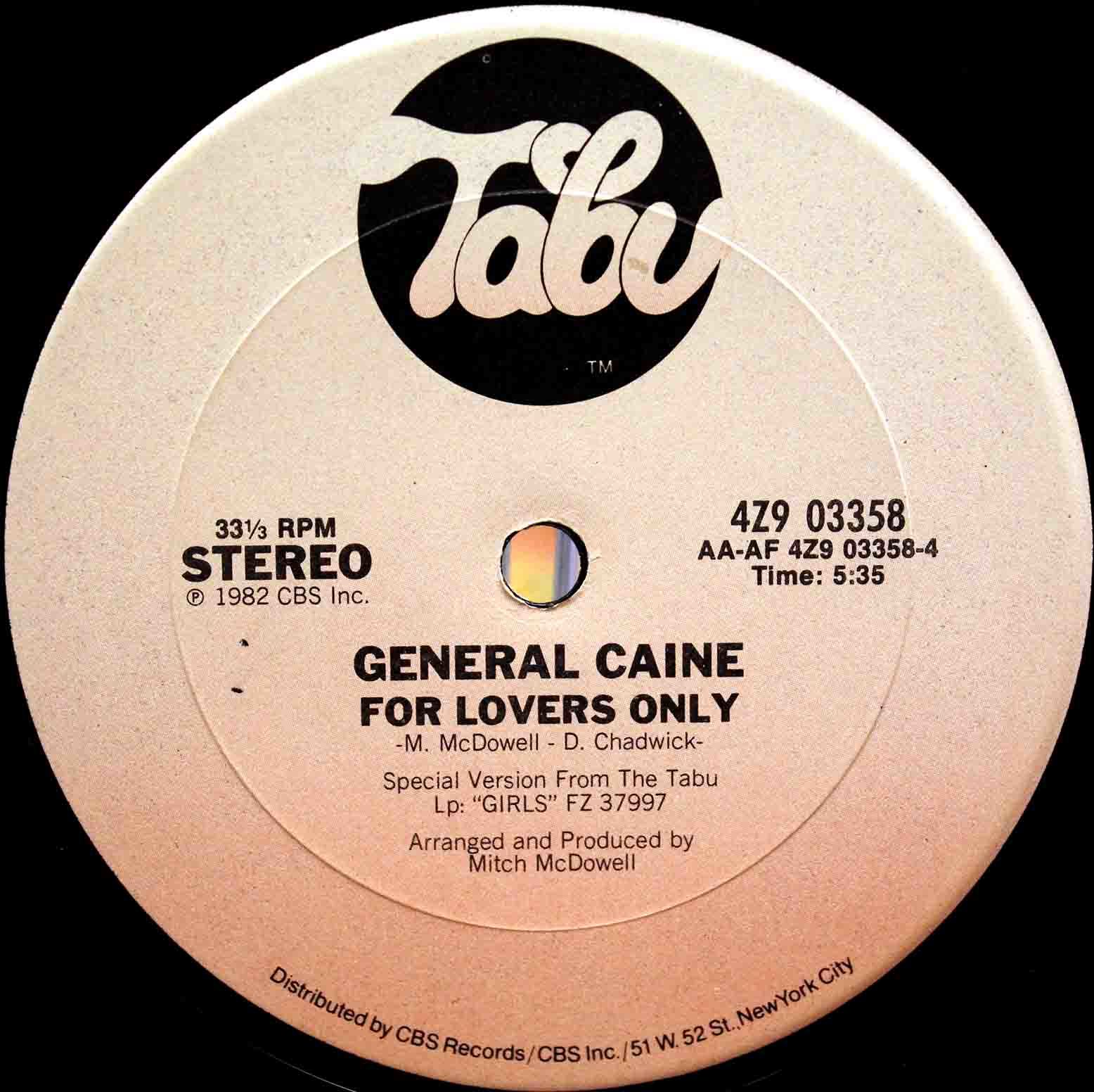 General Caine - Dont Stop 04