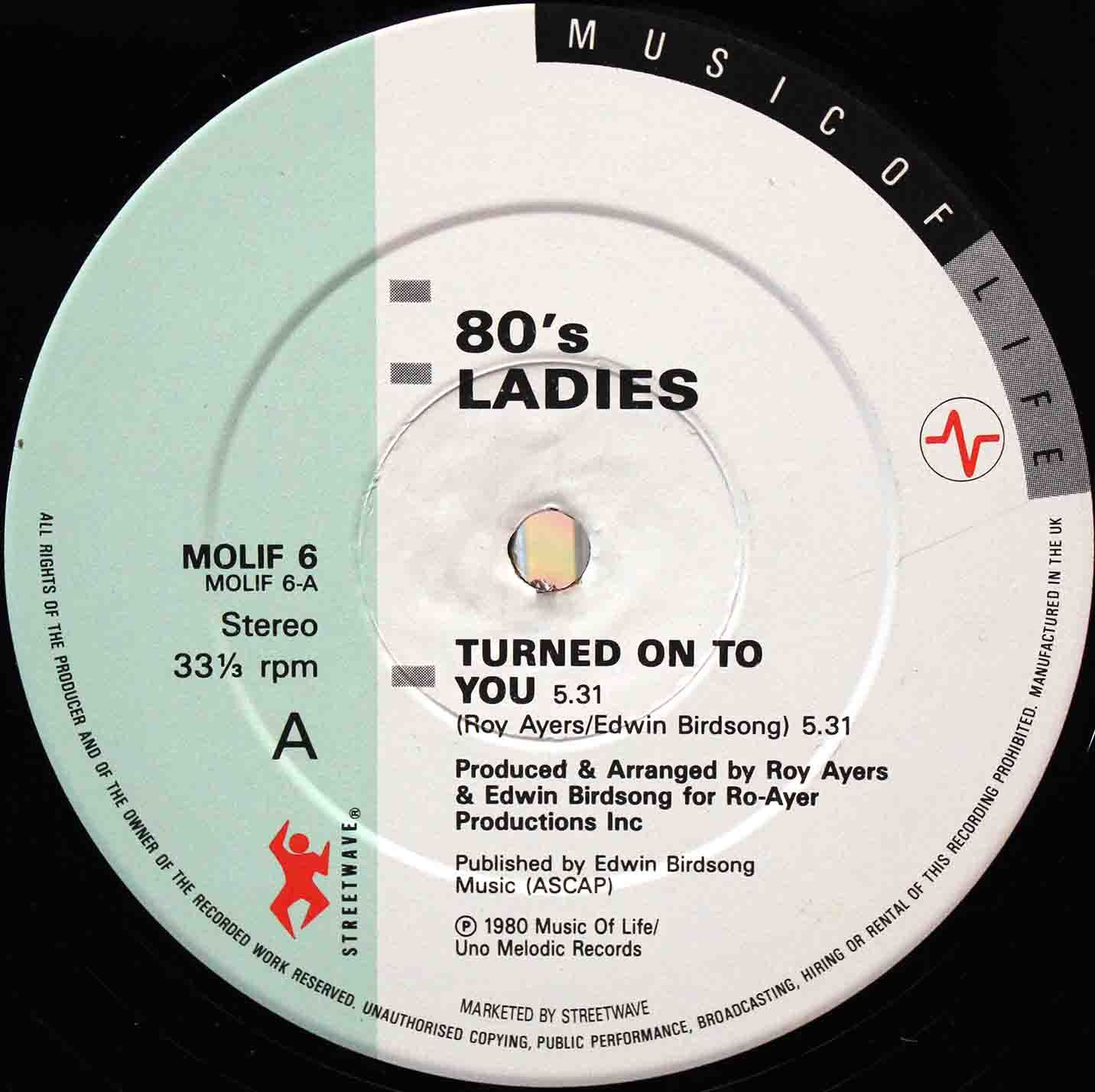 80s Ladies  Turned On To You 03