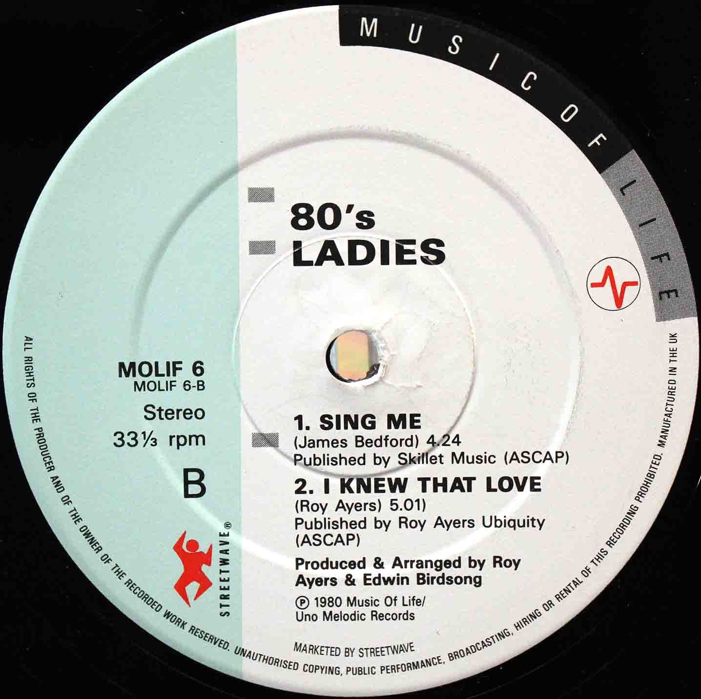 80s Ladies  Turned On To You 04