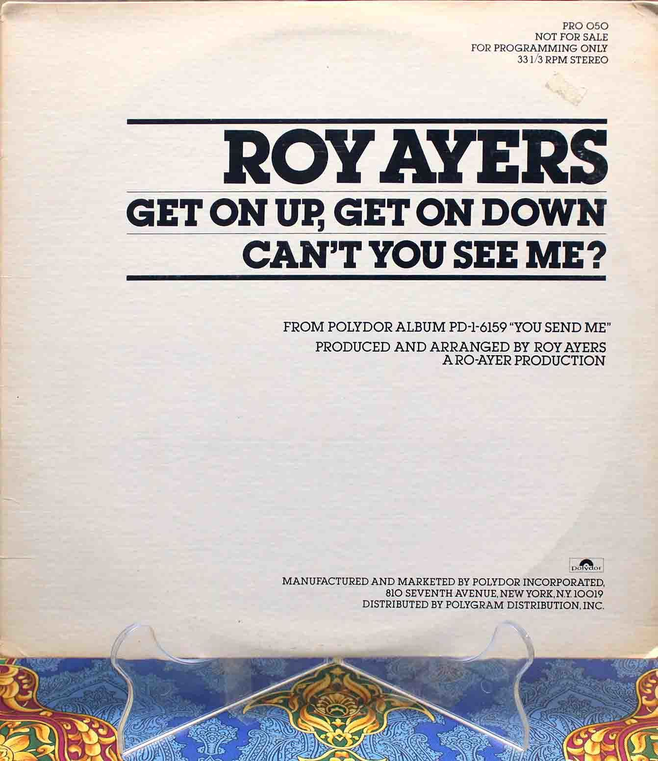 Roy Ayers ‎– Get On Up Get On Down 01