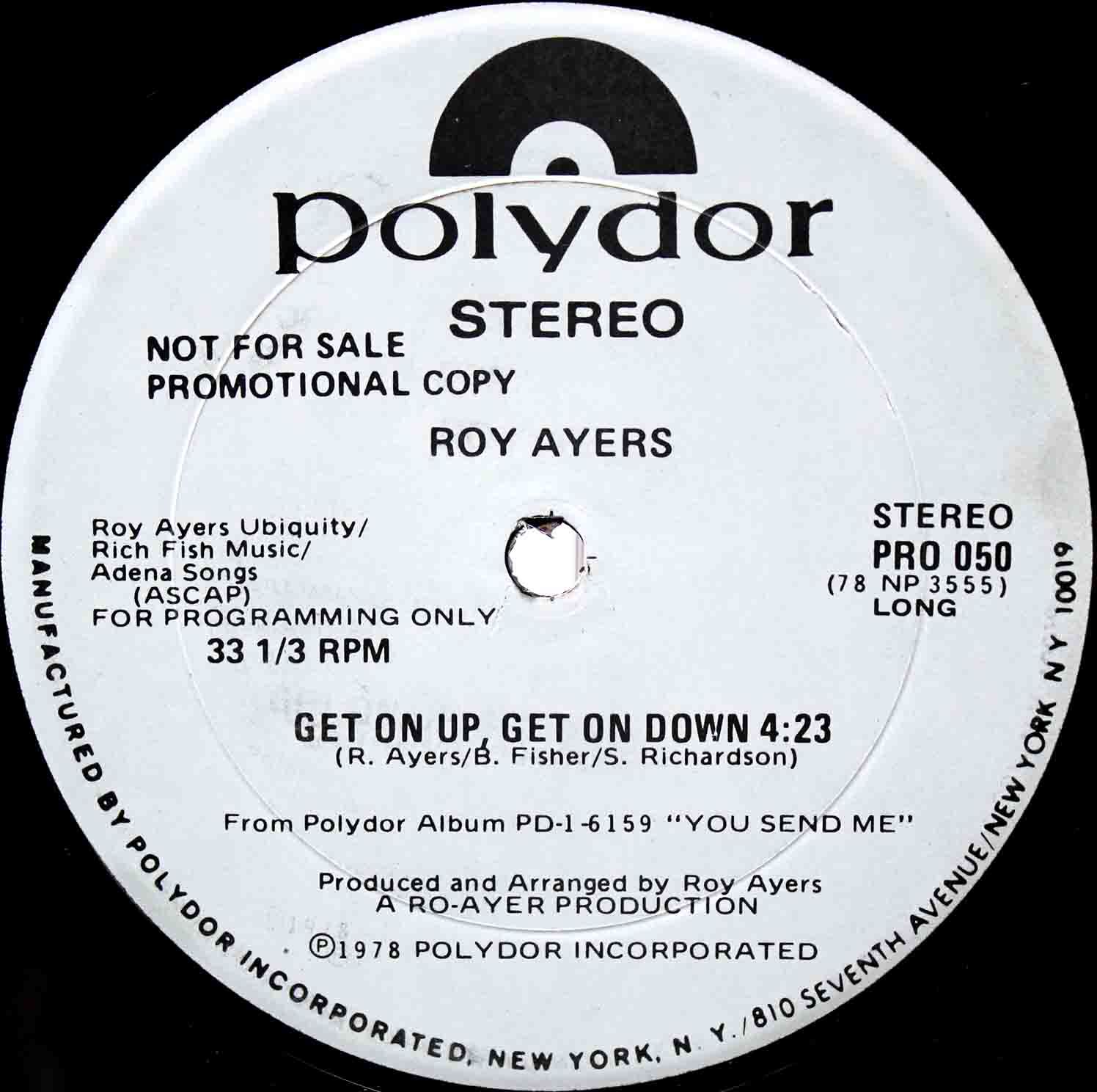 Roy Ayers ‎– Get On Up Get On Down 02