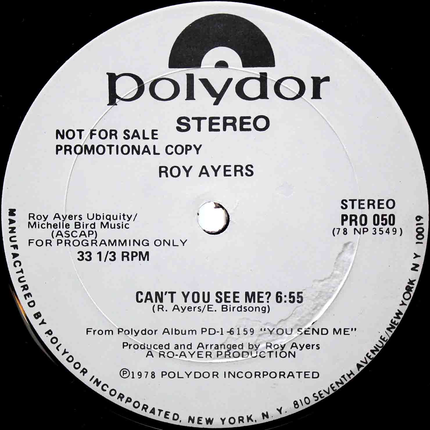 Roy Ayers – Cant You See Me 02