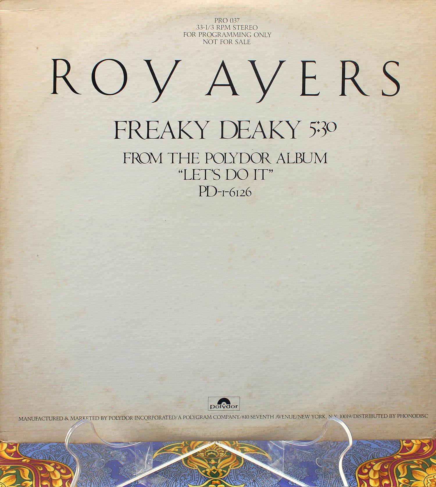 Roy Ayers Freaky Deaky 01