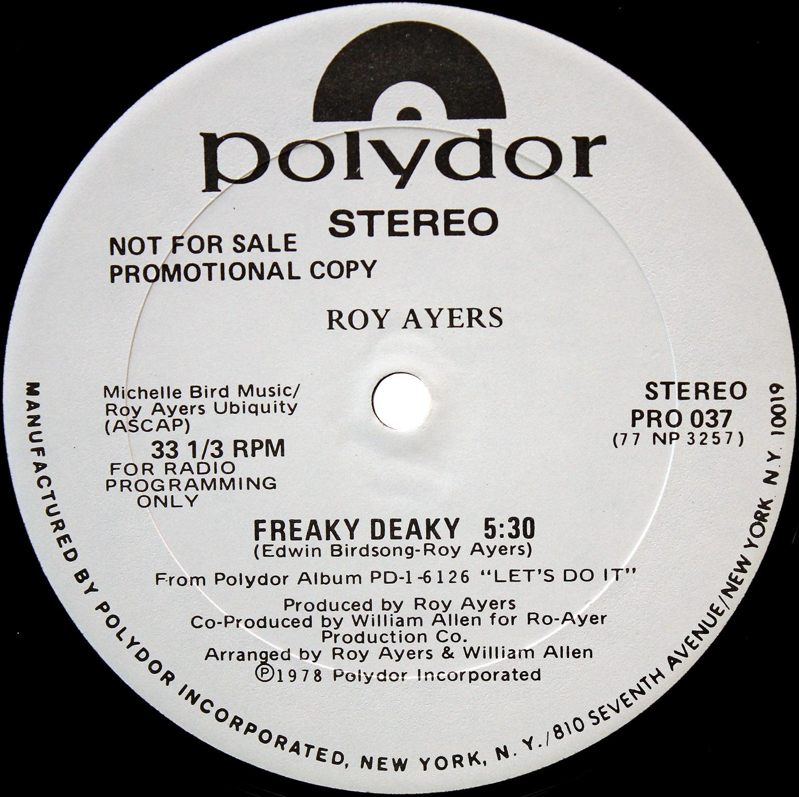 Roy Ayers Freaky Deaky 02