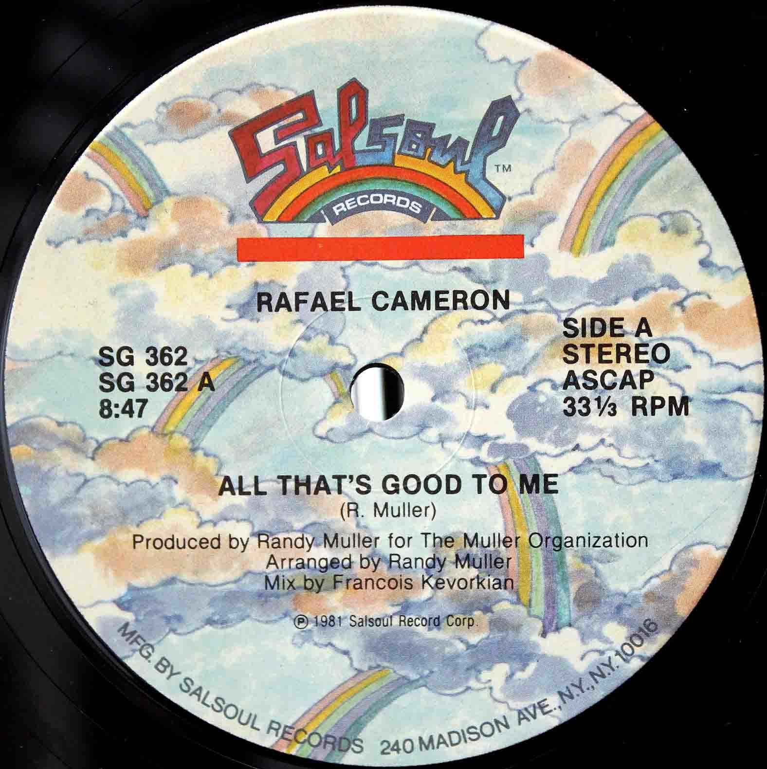 Rafael Cameron All Thats Good To Me 03