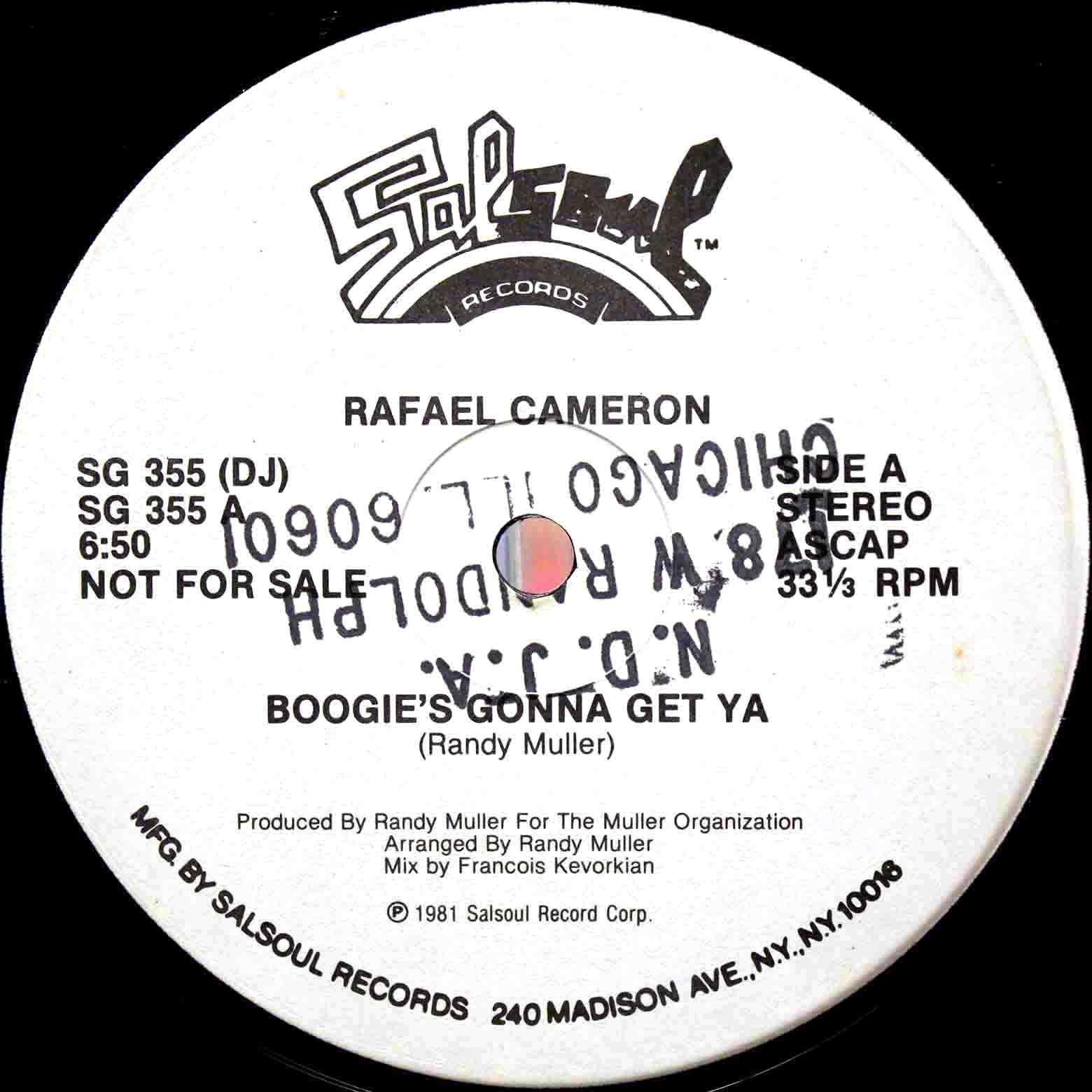 Rafael Cameron – Boogies Gonna Get Ya 03
