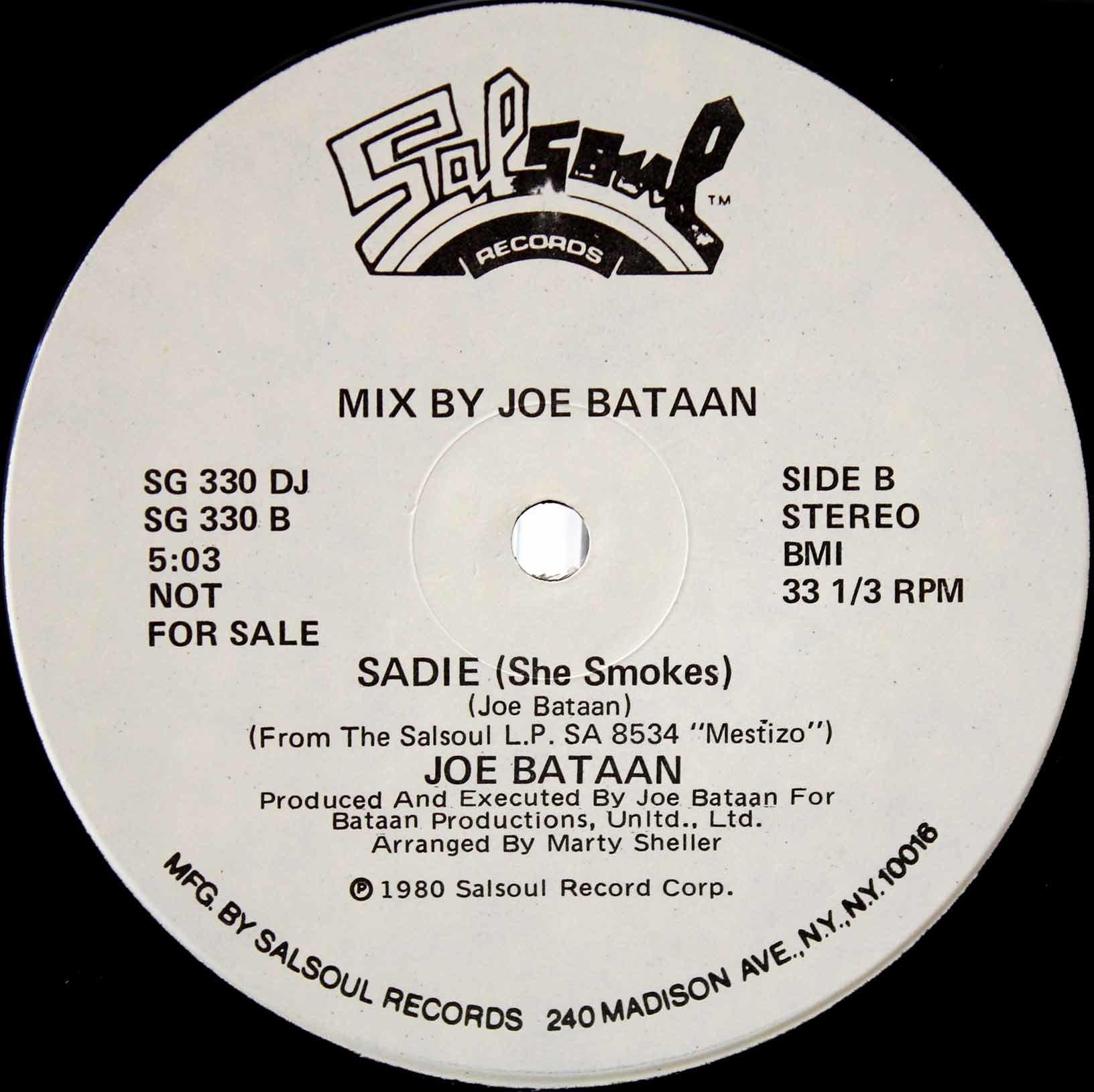 Joe Bataan – Sadie 04