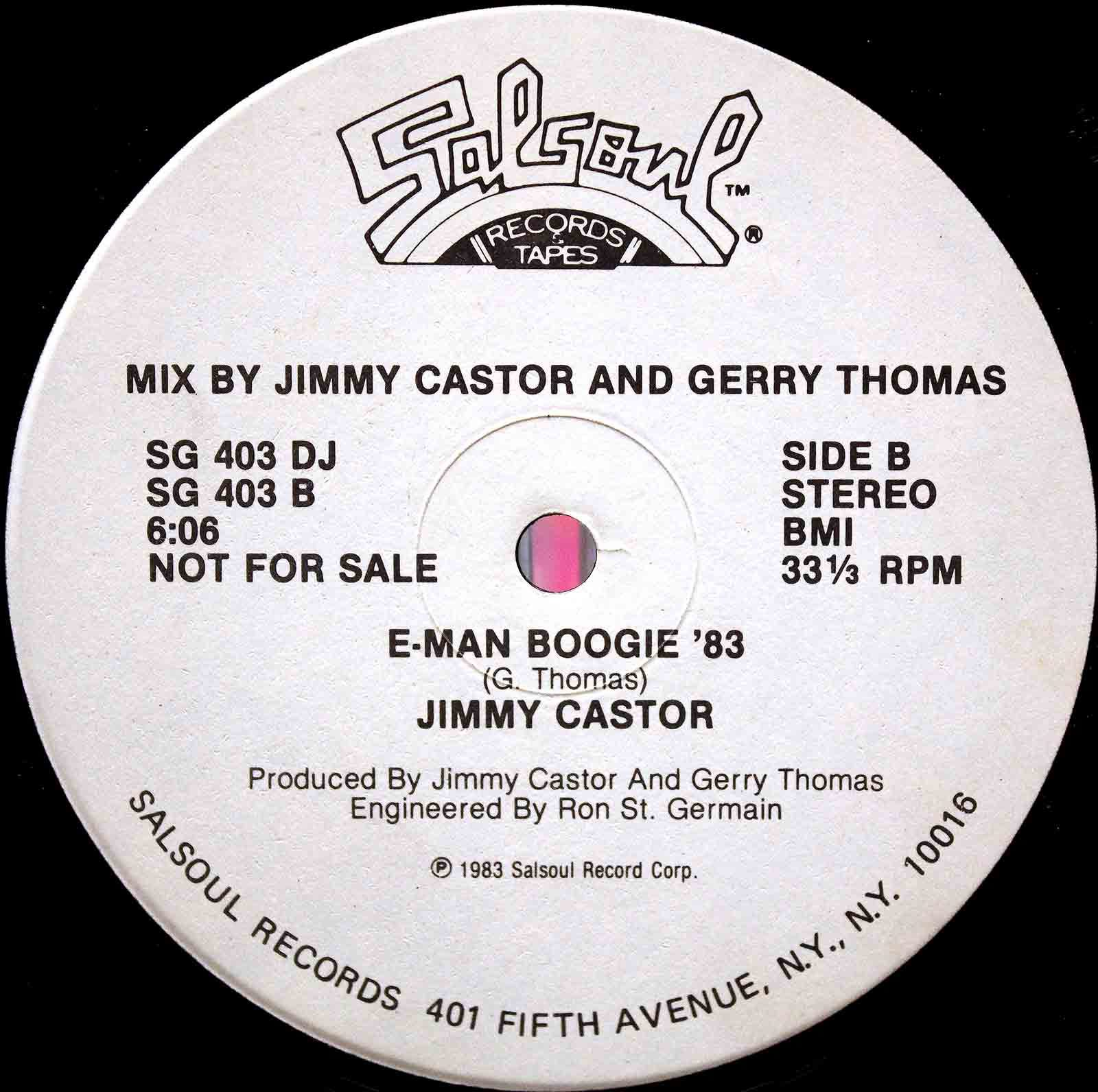 Jimmy caster bunch it`s just began 04