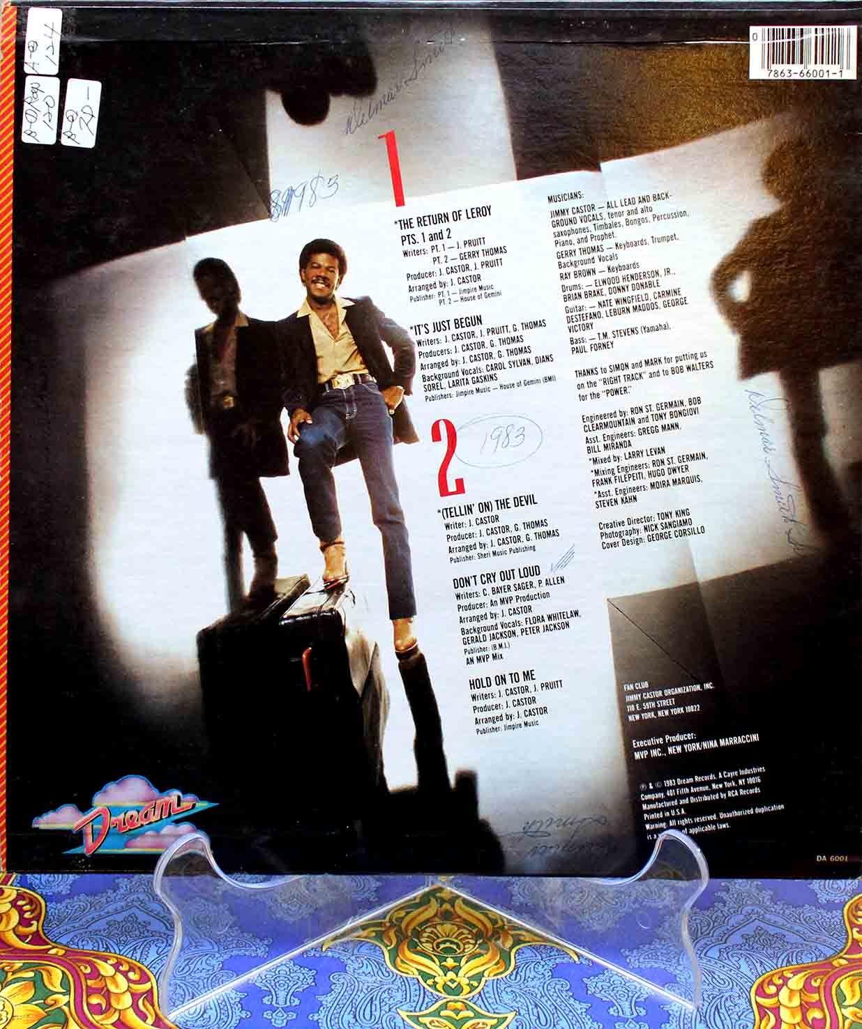Jimmy Castor – The Return Of Leroy 02