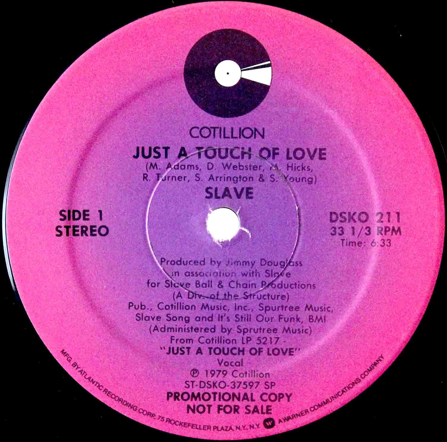 Slave ‎– Just A Touch Of Love 02