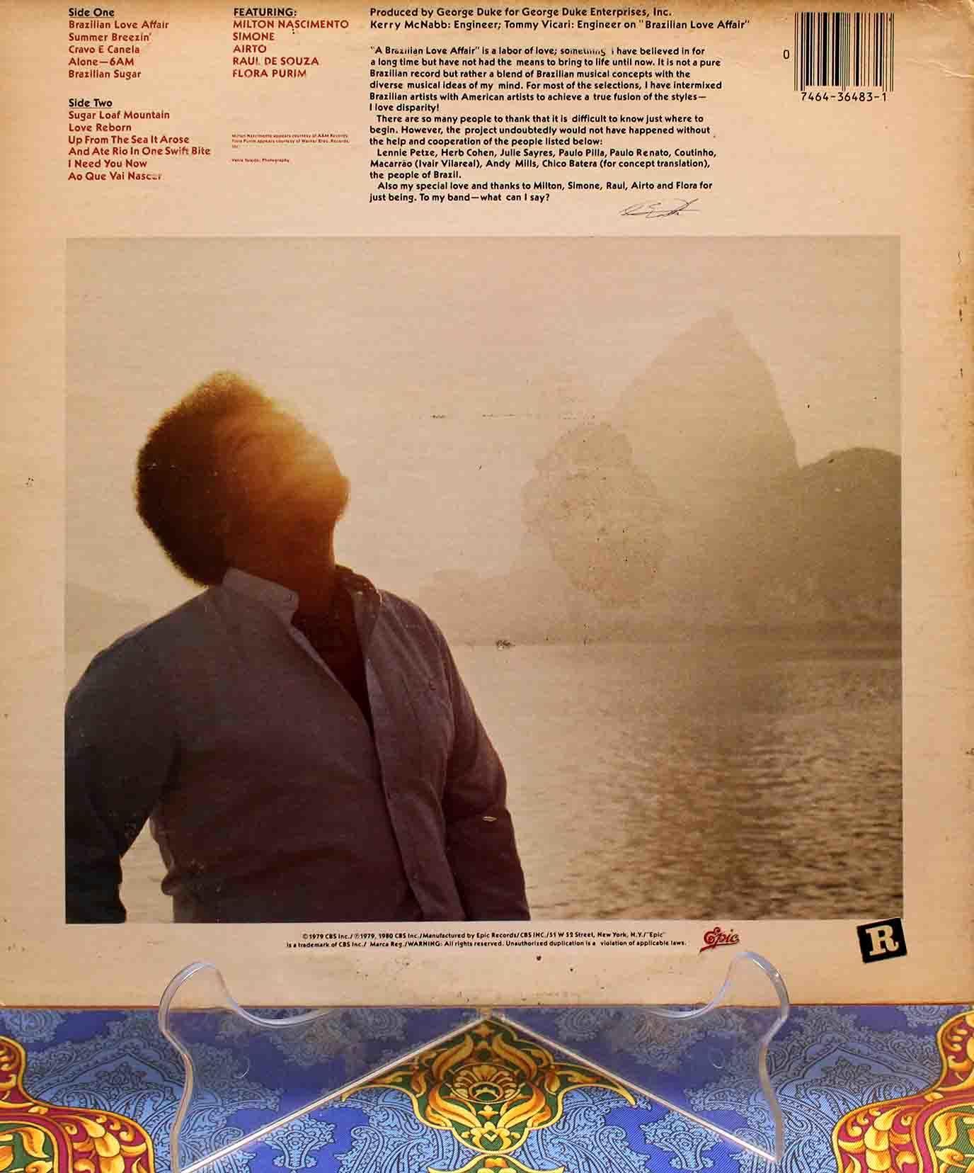 George Duke – Brazilian Love Affair LP 02