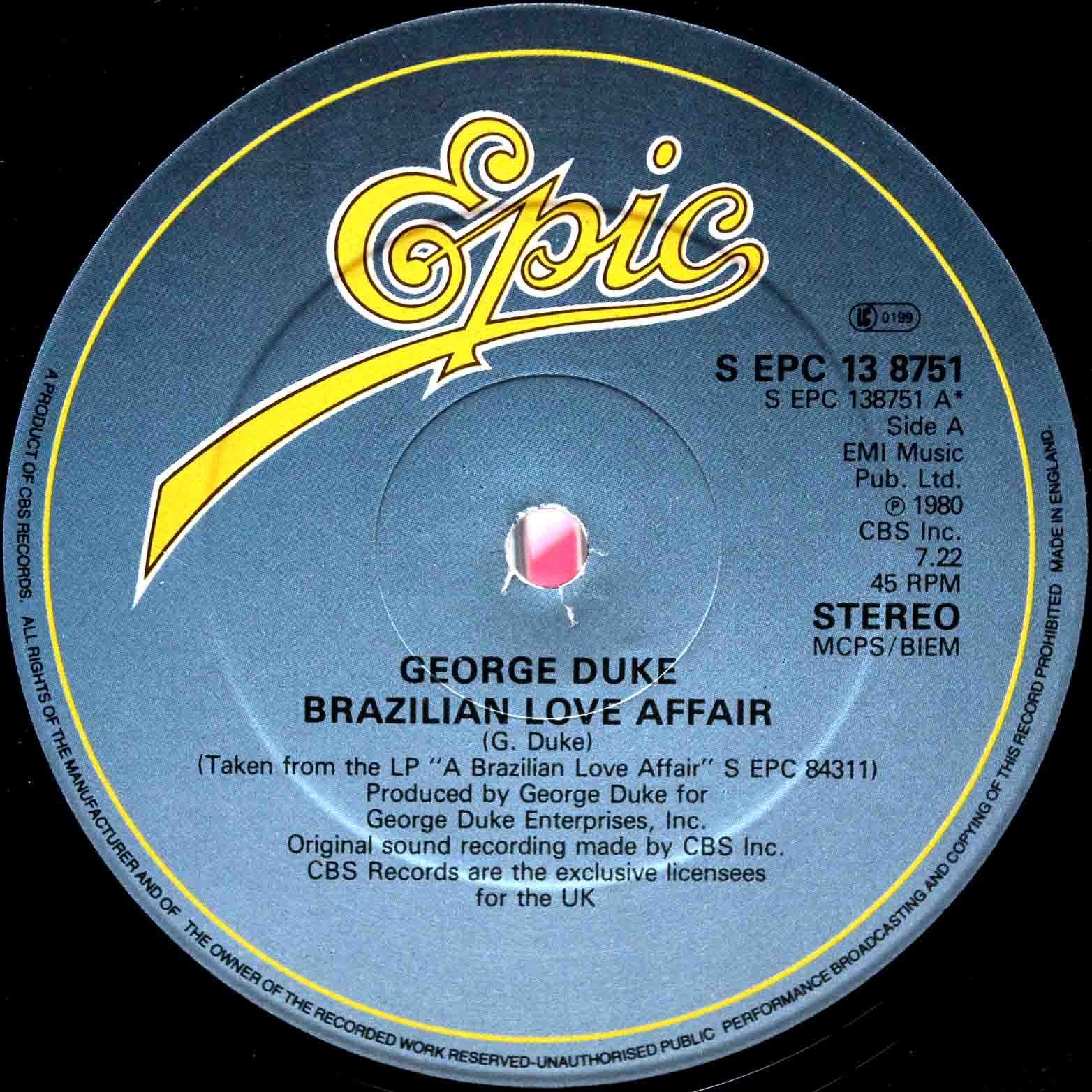 George Duke – Brazilian Love Affair 02