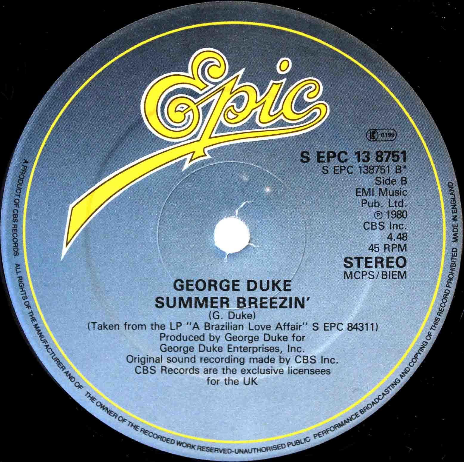 George Duke – Summer Breezin 02