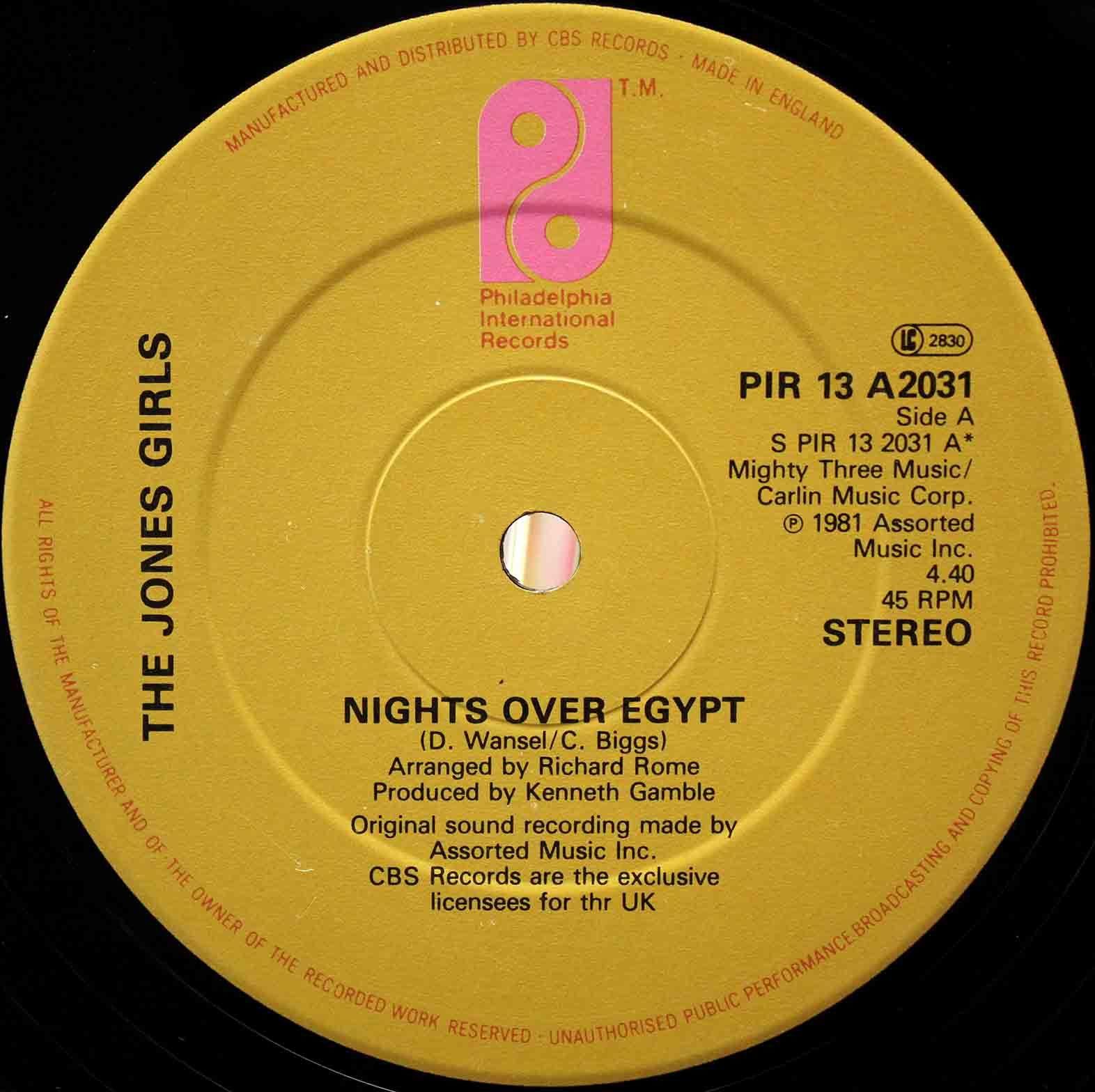The Jones Girls - Nights Over Egypt 03