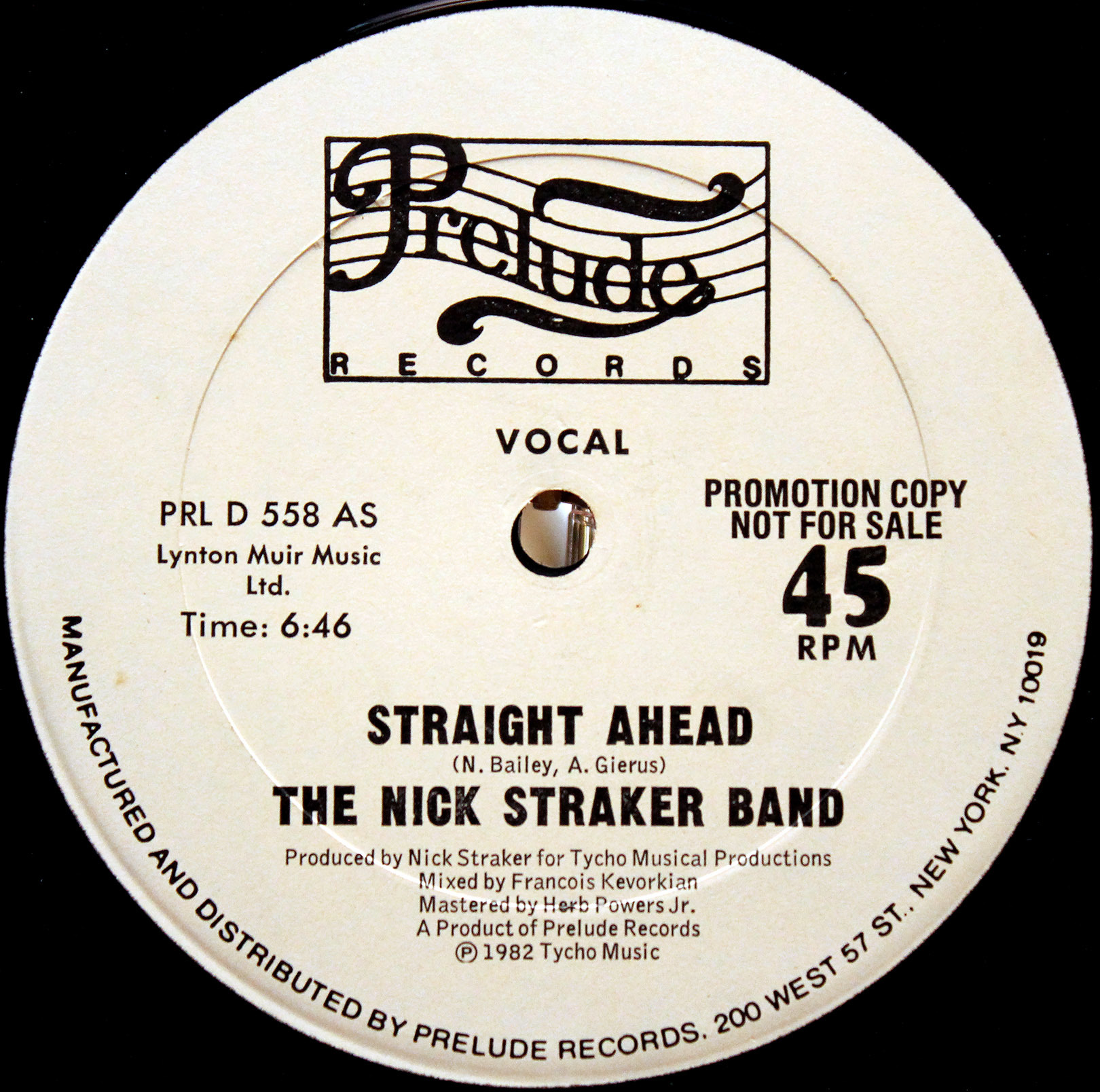 Nick Straker Band - Straight Ahead 02