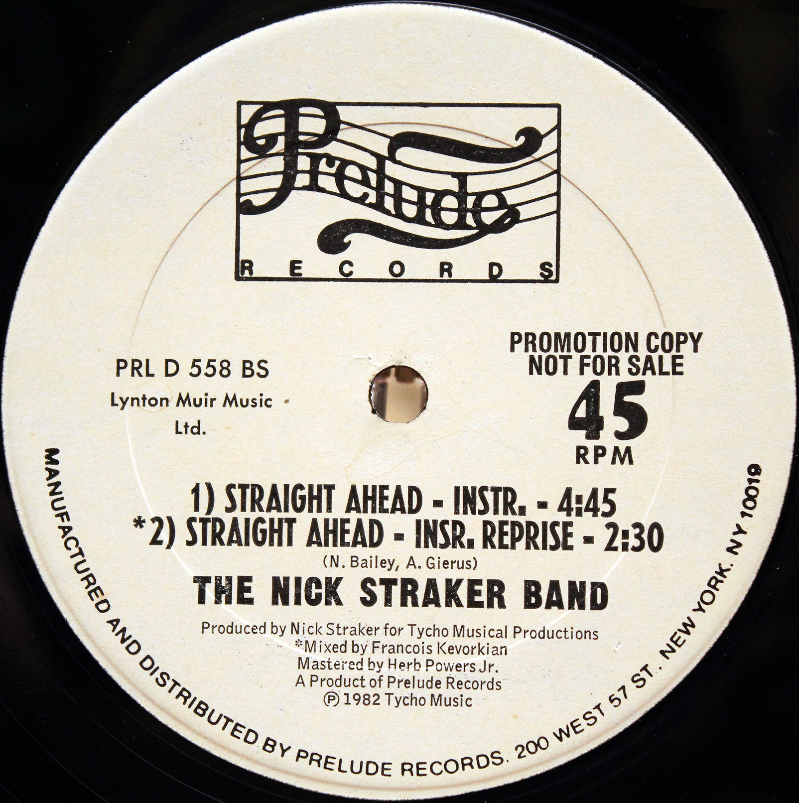 Nick Straker Band - Straight Ahead 03