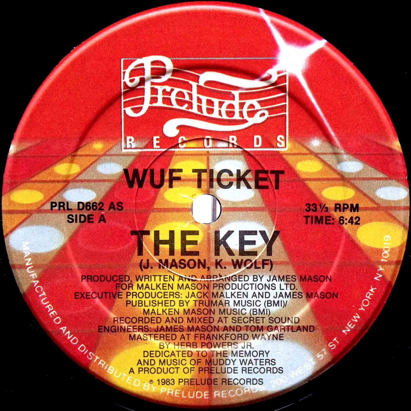 Wuf Ticket – The Key 03