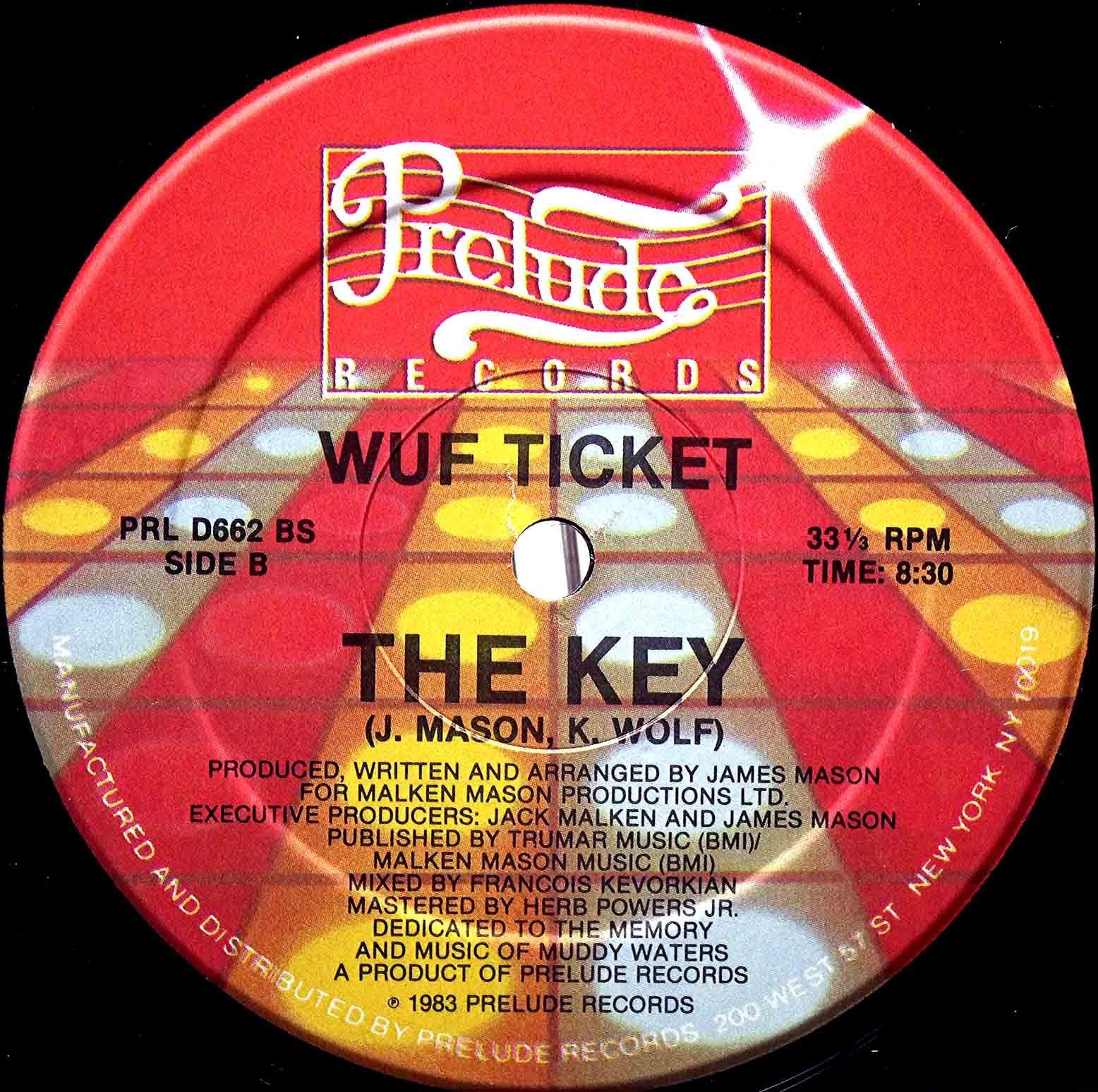 Wuf Ticket – The Key 04