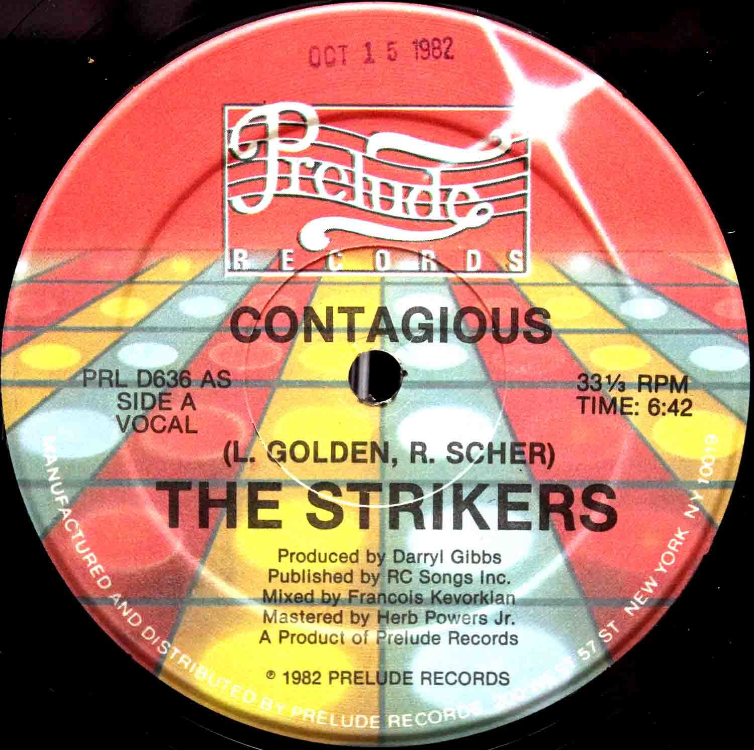 The Strikers ‎– Contagious 03