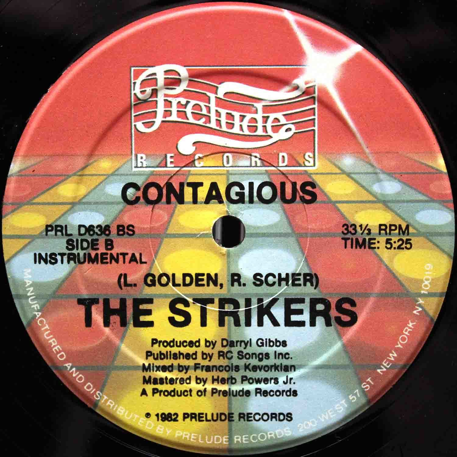 The Strikers ‎– Contagious 04