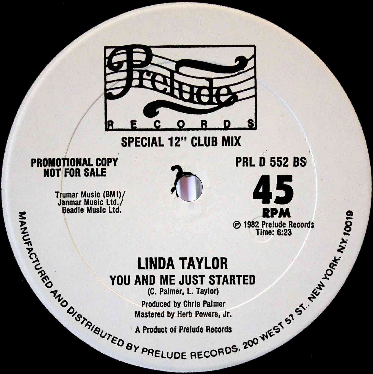 Linda Taylor – You And Me Just Started 04