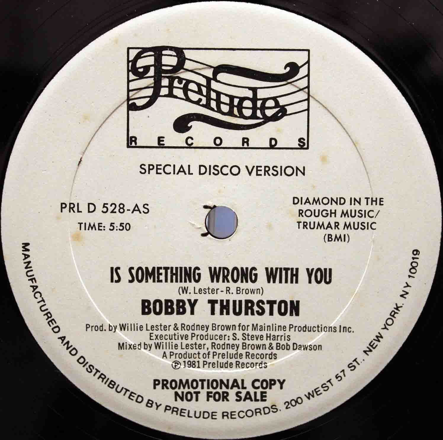 Bobby Thurston – Is Something Wrong With You 03