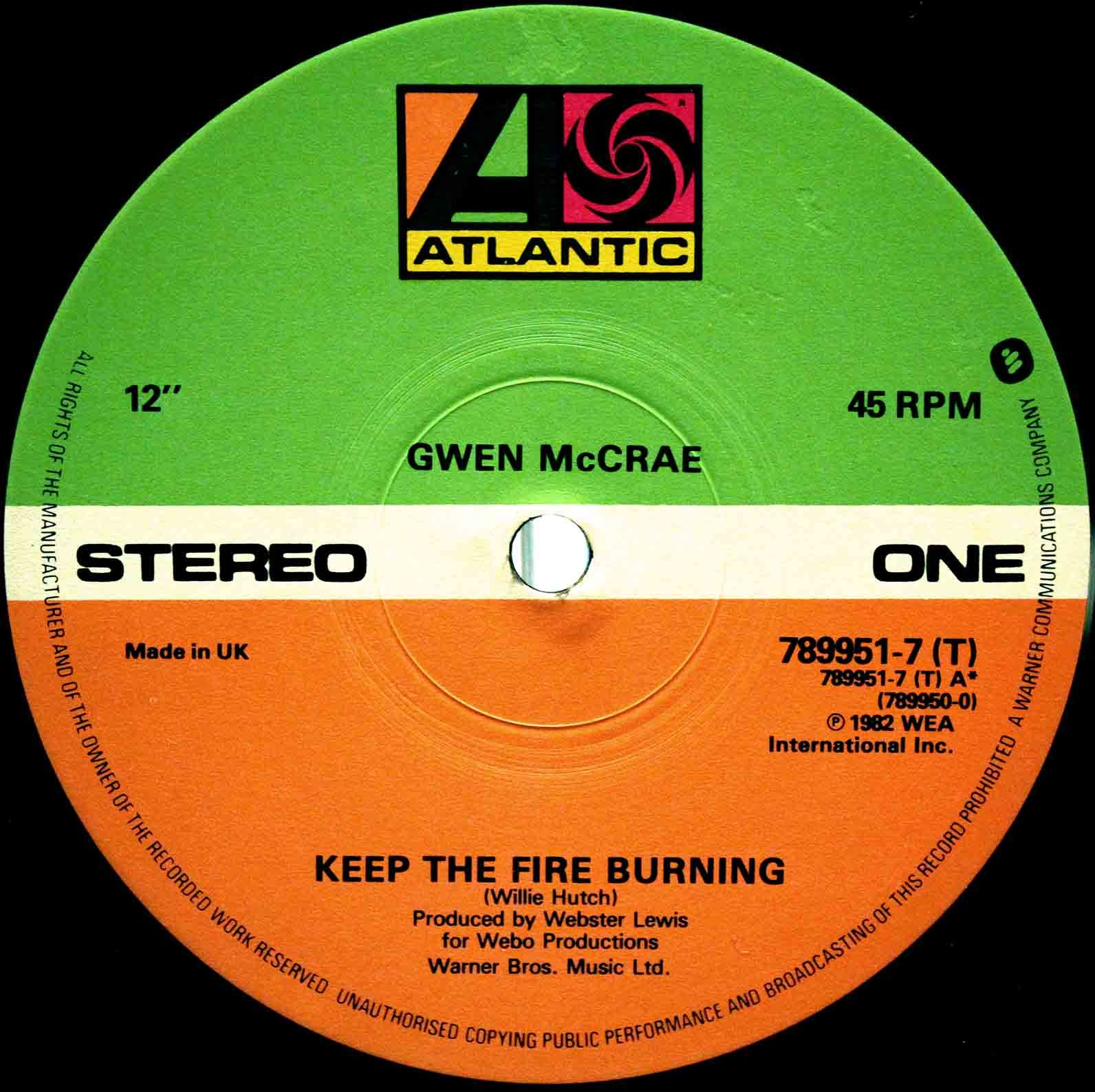Gwen McCrae - Keep The Fire Burning 02
