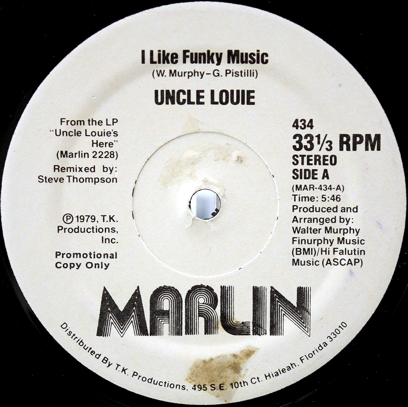 Uncle Louie – I Like Funky Music 02
