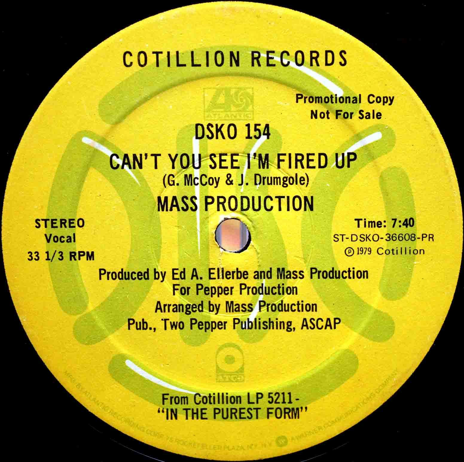 Mass Production - Cant You See Im Fired Up 03